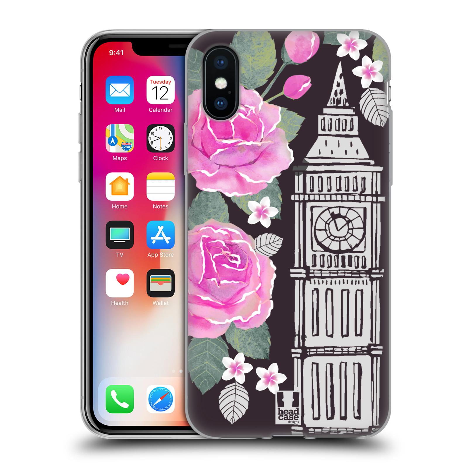 HEAD-CASE-DESIGNS-FLORAL-CITY-LANDMARKS-SOFT-GEL-CASE-FOR-APPLE-iPHONE-PHONES