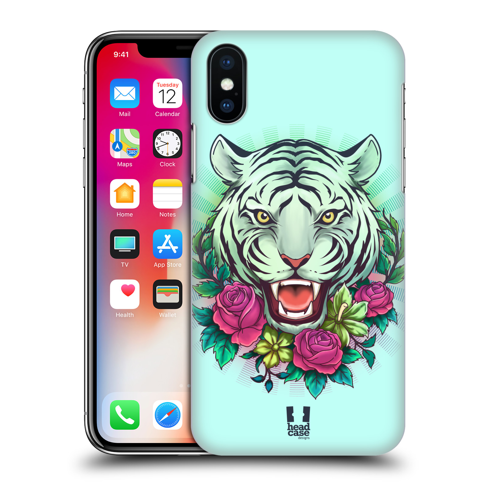 HEAD-CASE-DESIGNS-FLORA-AND-FAUNA-HARD-BACK-CASE-FOR-APPLE-iPHONE-X