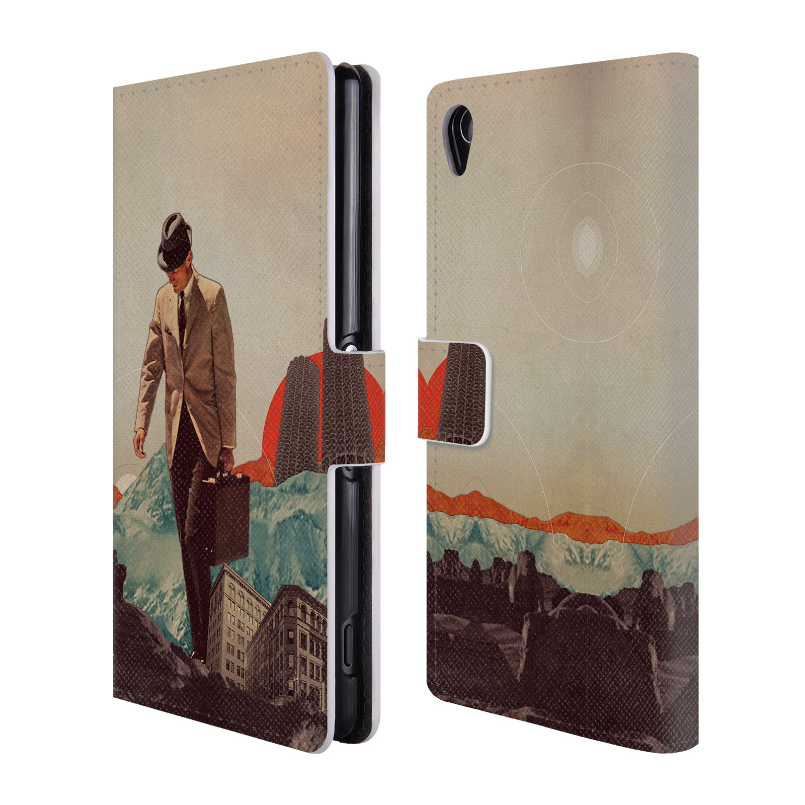 OFFICIAL-FRANK-MOTH-VINTAGE-LEATHER-BOOK-WALLET-CASE-COVER-FOR-SONY-PHONES-1