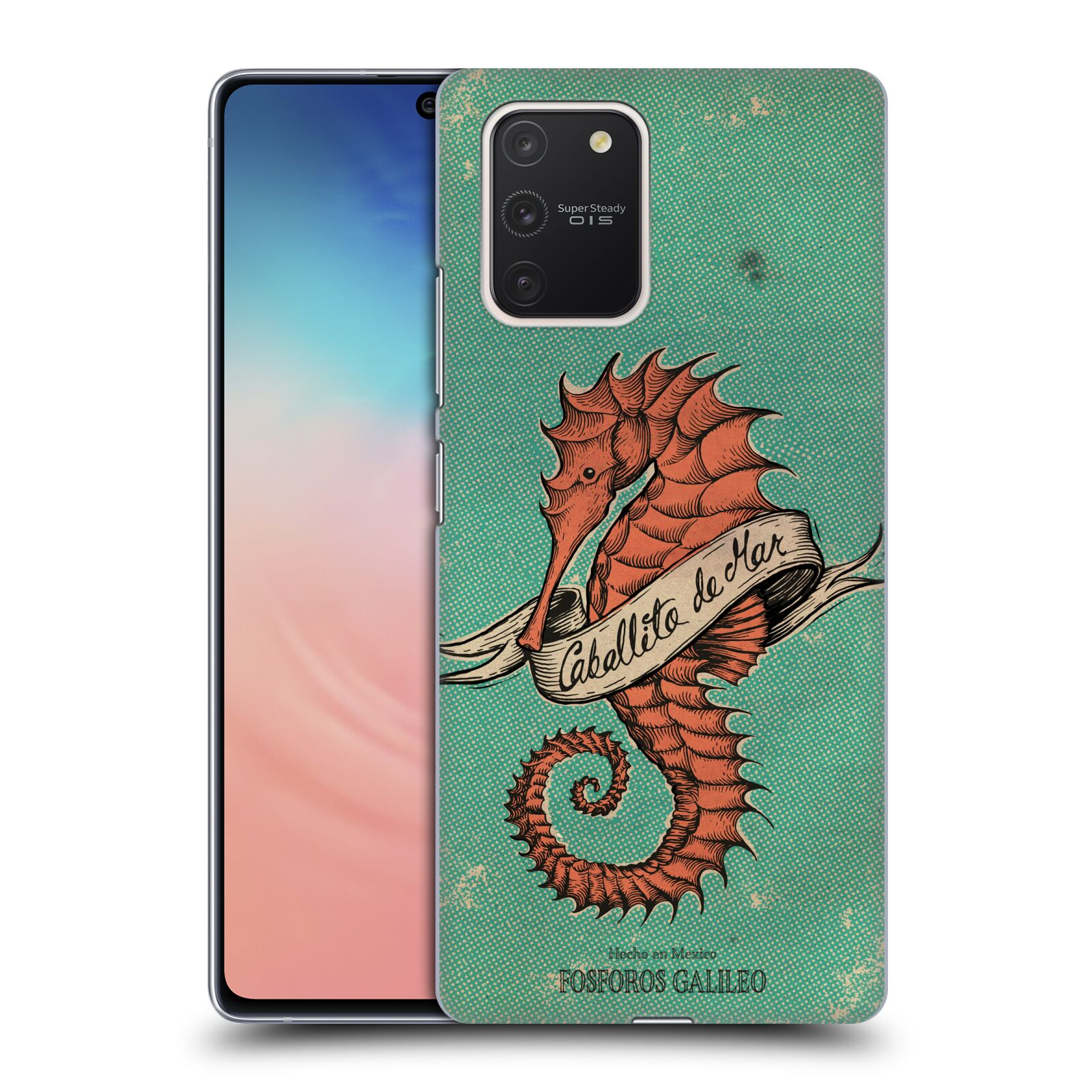 Official Fosforos Galileo Diseños Caballito De Mar Case for Samsung Galaxy S10 Lite