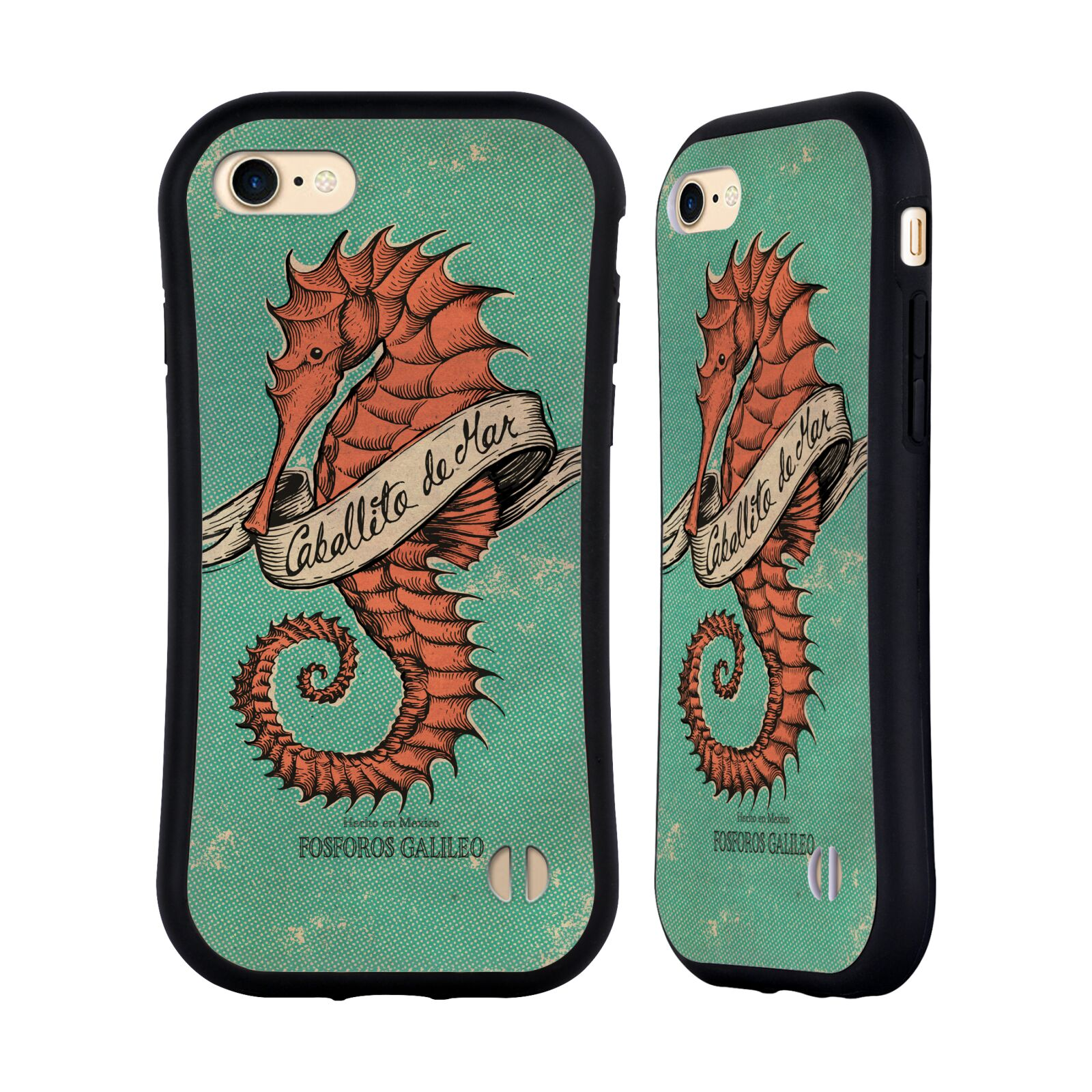 Official Fosforos Galileo Diseños Caballito De Mar Hybrid Case for Apple iPhone 7 / 8 / iPhone SE 2020