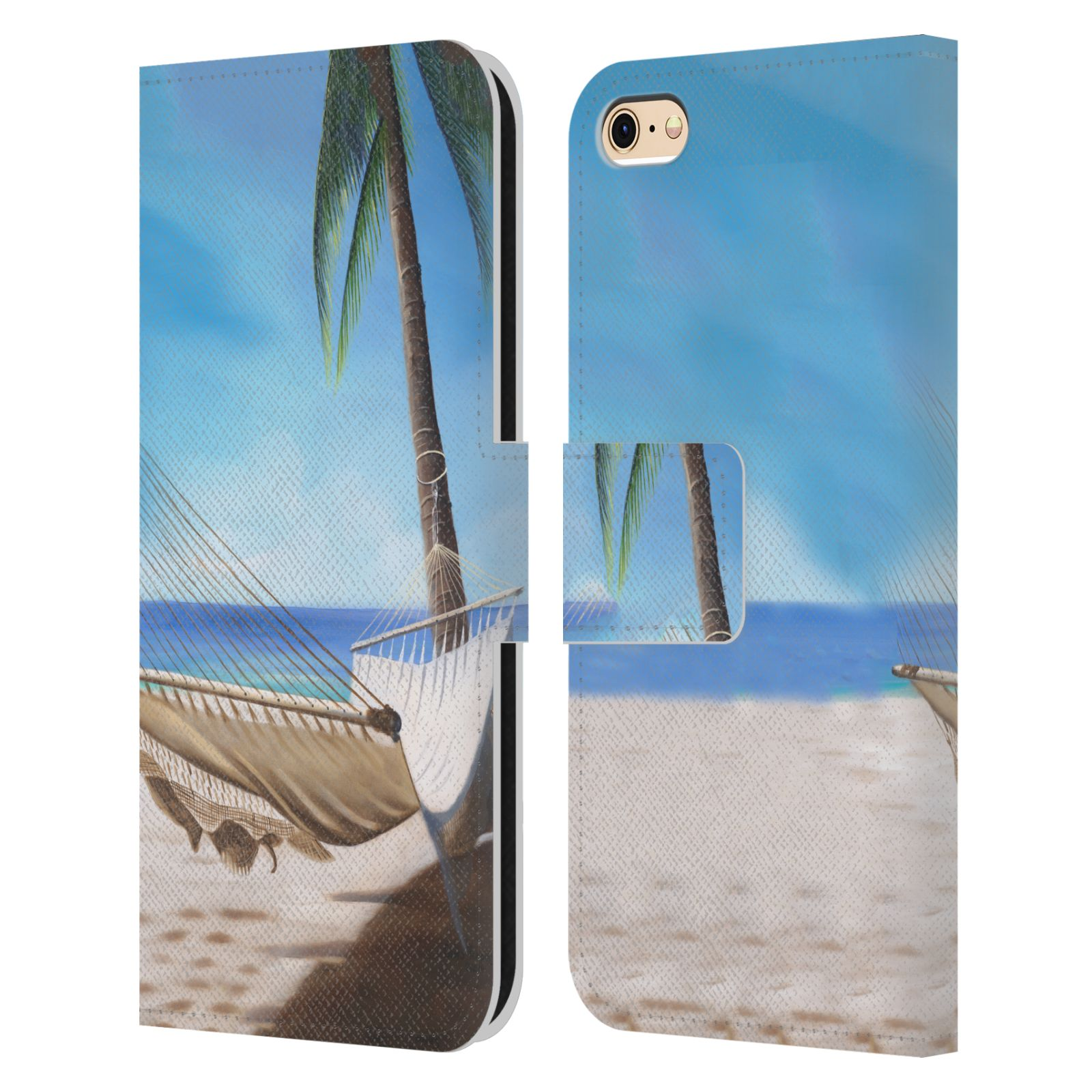 OFFICIAL-GENO-PEOPLES-ART-HOLIDAY-LEATHER-BOOK-CASE-FOR-APPLE-iPHONE-PHONES