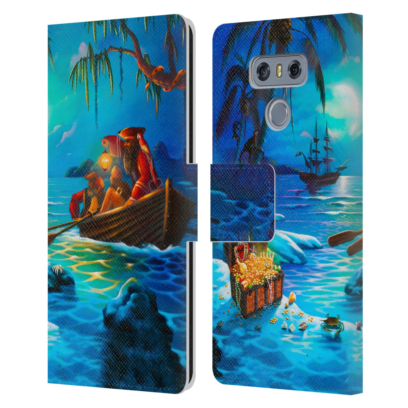 OFFICIAL-GENO-PEOPLES-ART-HOLIDAY-LEATHER-BOOK-WALLET-CASE-COVER-FOR-LG-PHONES-1