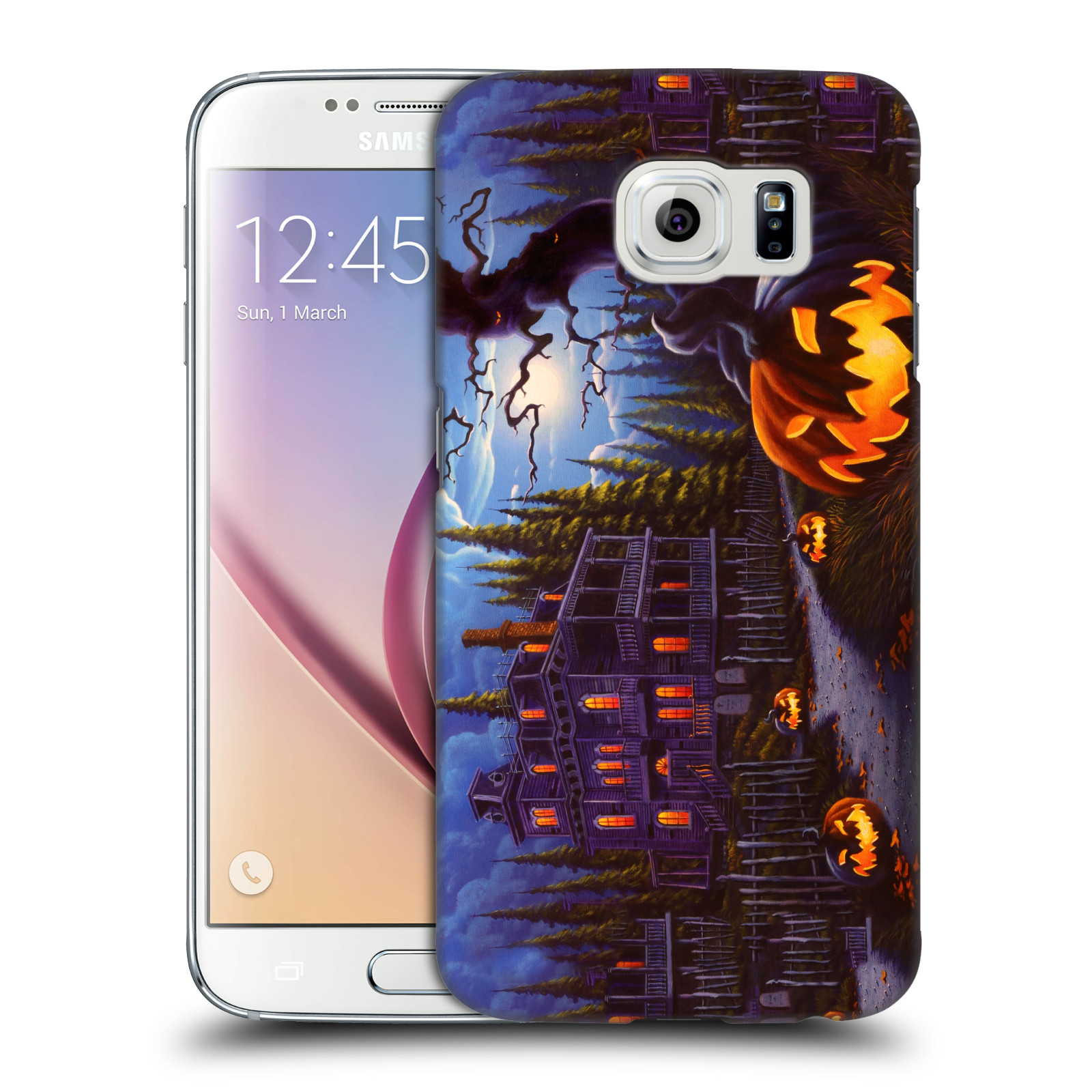 OFFICIAL-GENO-PEOPLES-ART-HALLOWEEN-HARD-BACK-CASE-FOR-SAMSUNG-PHONES-1