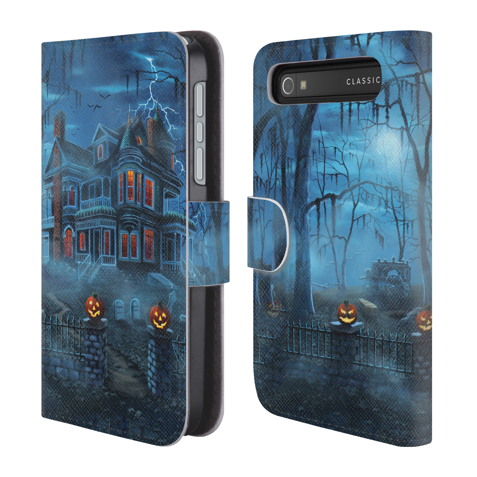 OFFICIAL-GENO-PEOPLES-ART-HALLOWEEN-LEATHER-BOOK-CASE-FOR-BLACKBERRY-ONEPLUS