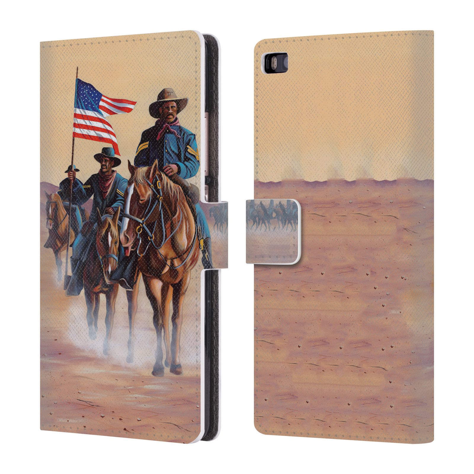OFFICIAL-GENO-PEOPLES-ART-LIFE-LEATHER-BOOK-WALLET-CASE-COVER-FOR-HUAWEI-PHONES