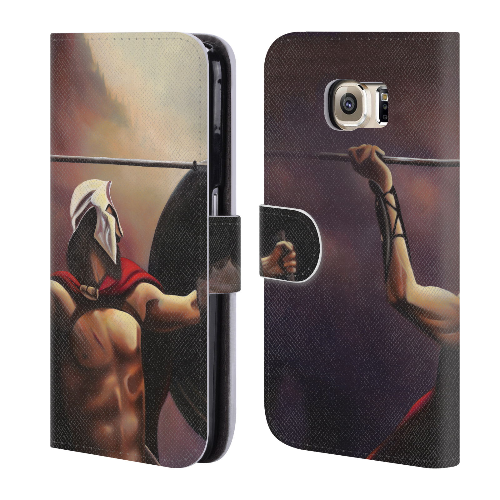 OFFICIAL-GENO-PEOPLES-ART-LIFE-LEATHER-BOOK-WALLET-CASE-FOR-SAMSUNG-PHONES-1