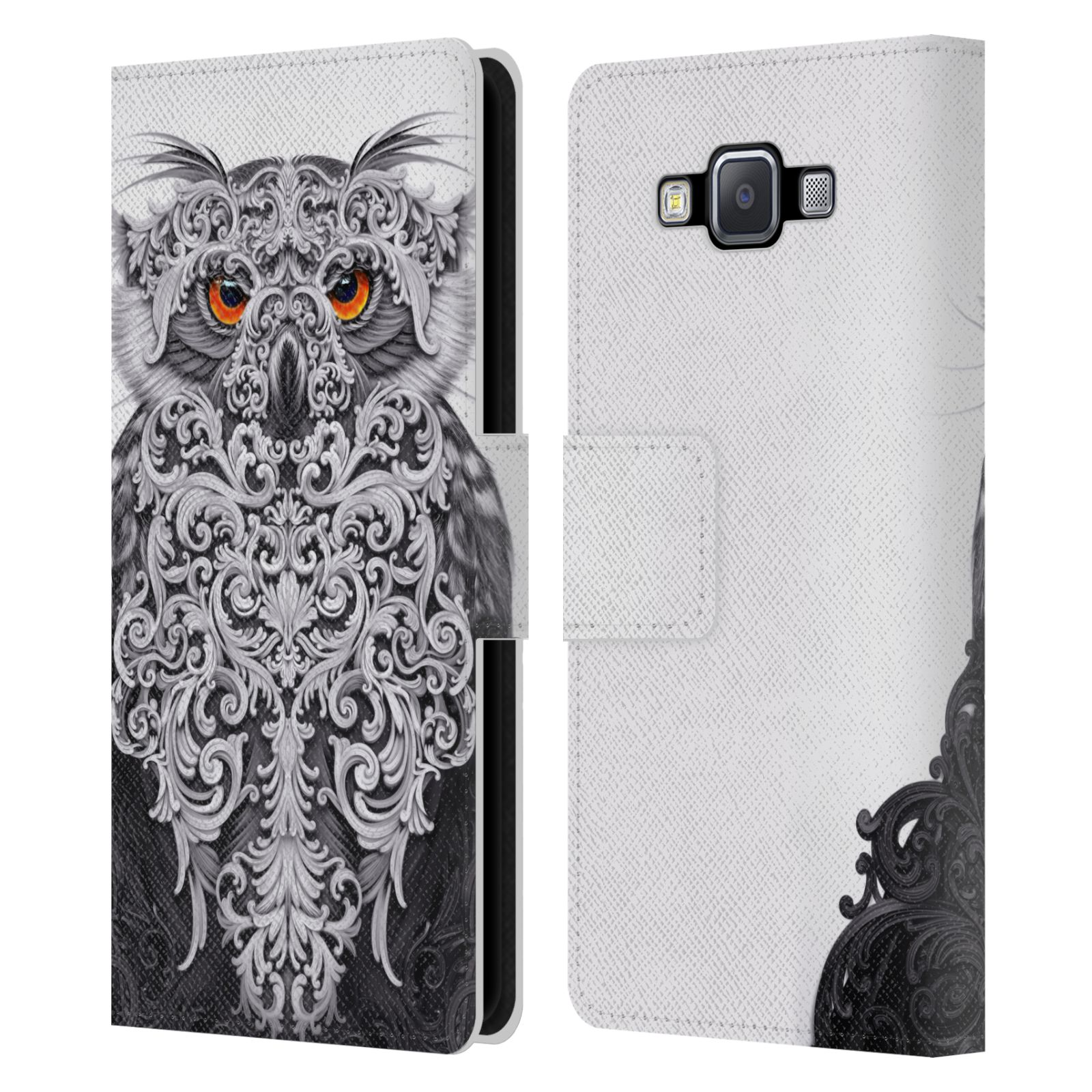 OFFICIAL-GIULIO-ROSSI-ANIMAL-COLLECTION-LEATHER-BOOK-CASE-FOR-SAMSUNG-PHONES-2