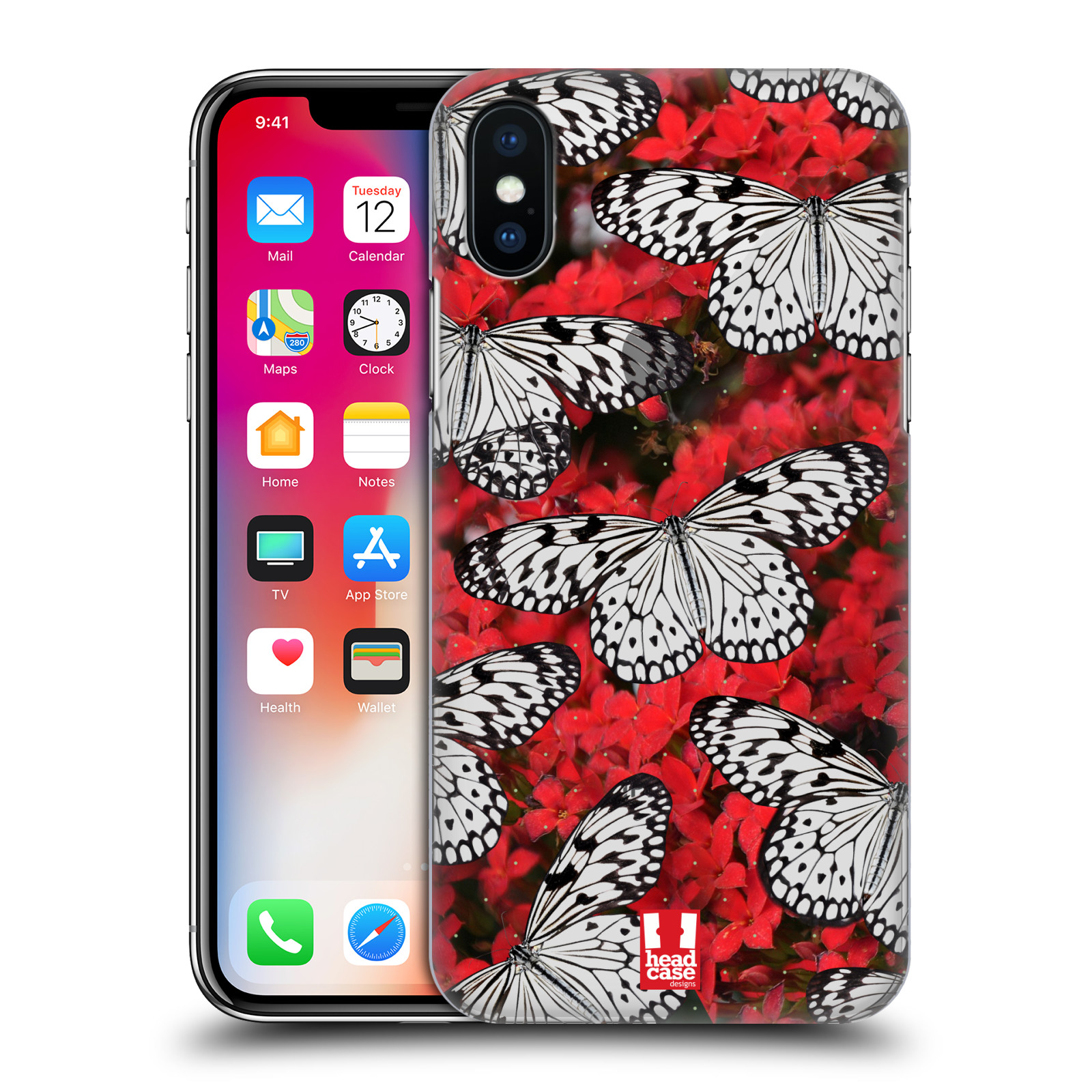 Funda-HEAD-CASE-DESIGNS-Alas-de-Cristal-Funda-Rigida-posterior-para-telefonos-Apple-iPhone