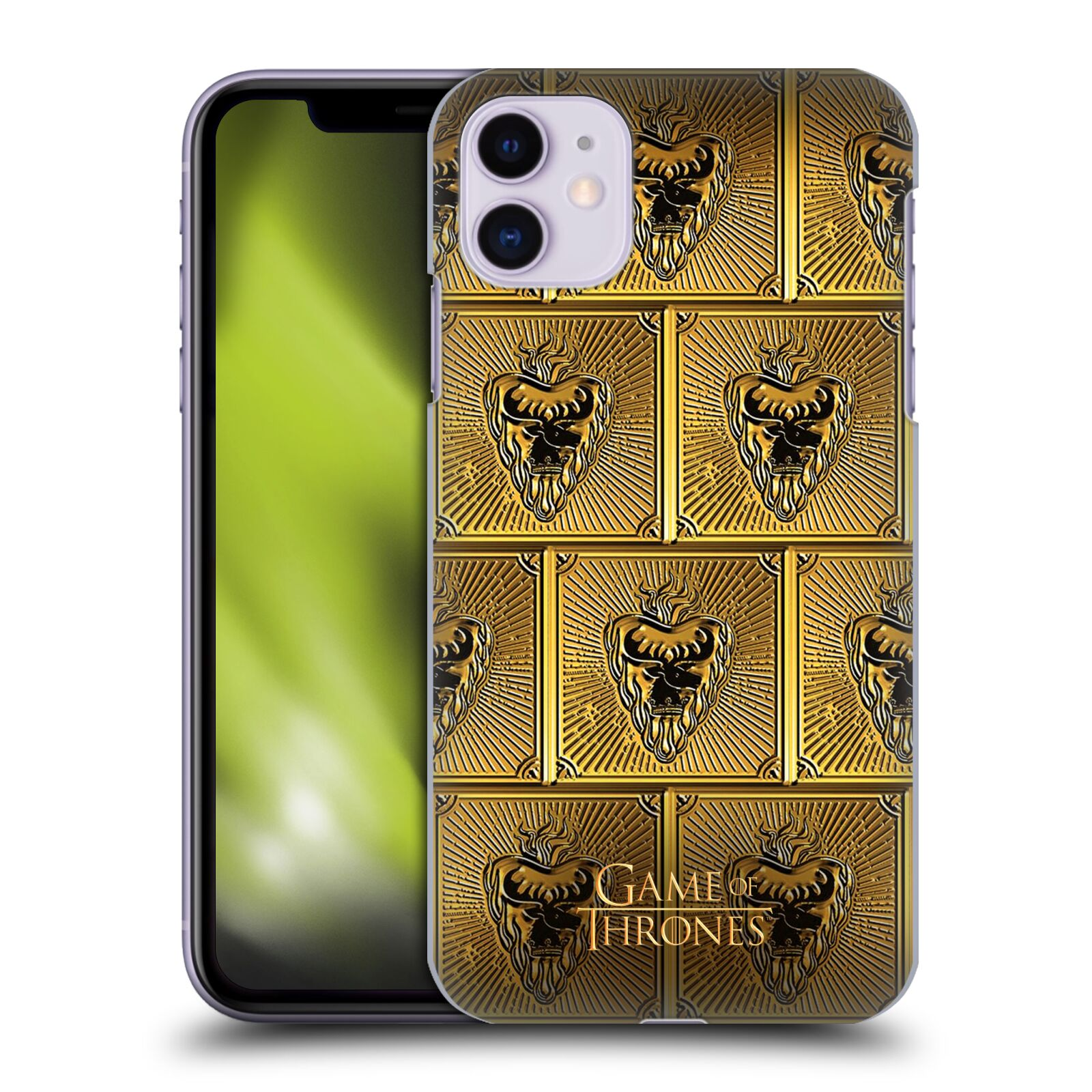 Offizielle HBO Game of Thrones Golden Sigils Stannis Hülle für Apple iPhone 11