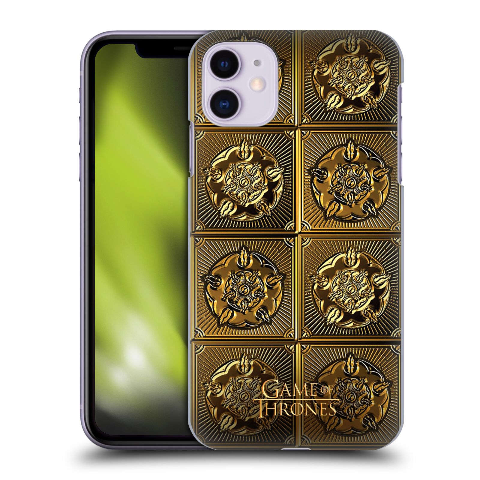 Offizielle HBO Game of Thrones Golden Sigils Tyrell Hülle für Apple iPhone 11