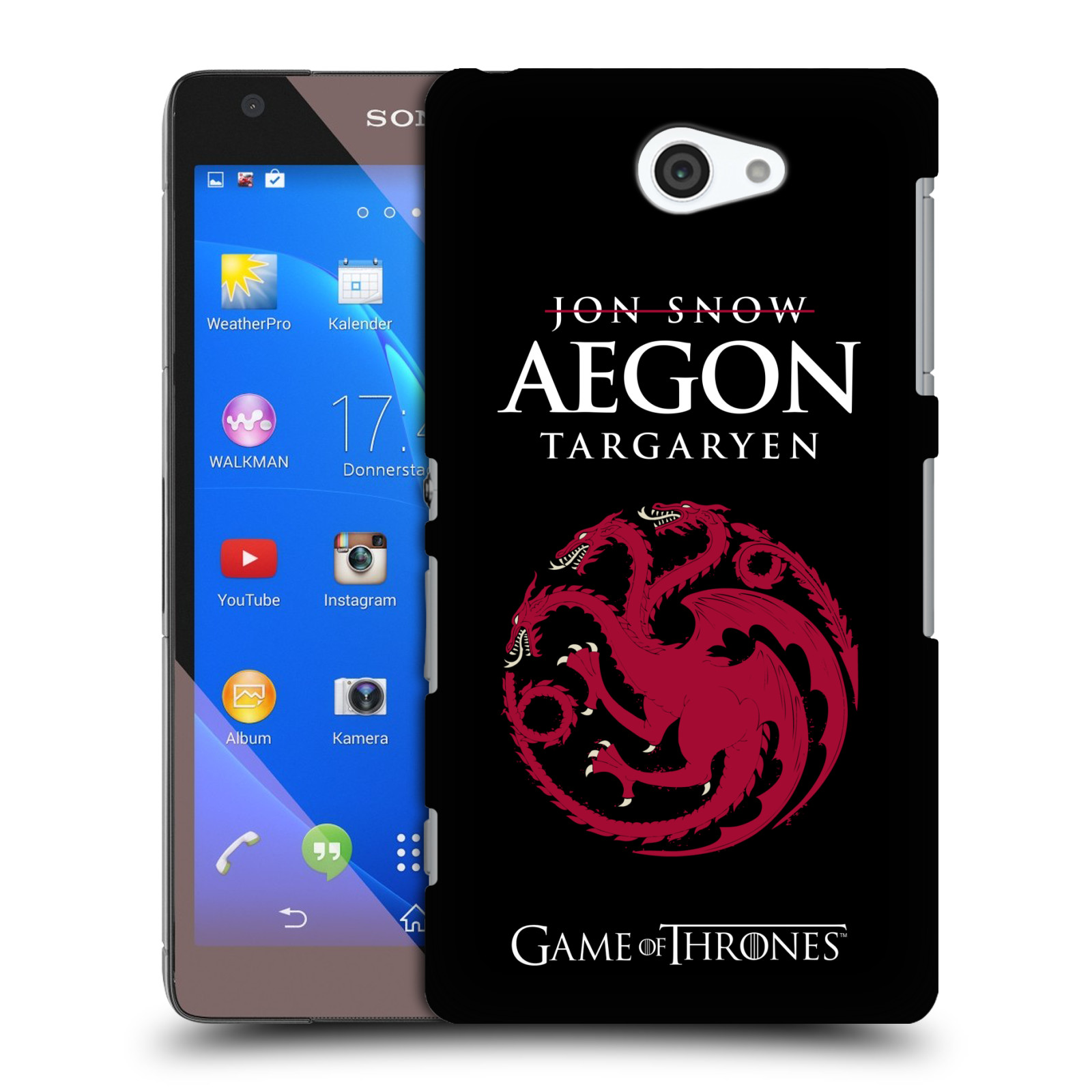 OFFICIEL-HBO-GAME-OF-THRONES-GRAPHISME-ETUI-COQUE-POUR-SONY-TELEPHONES-4