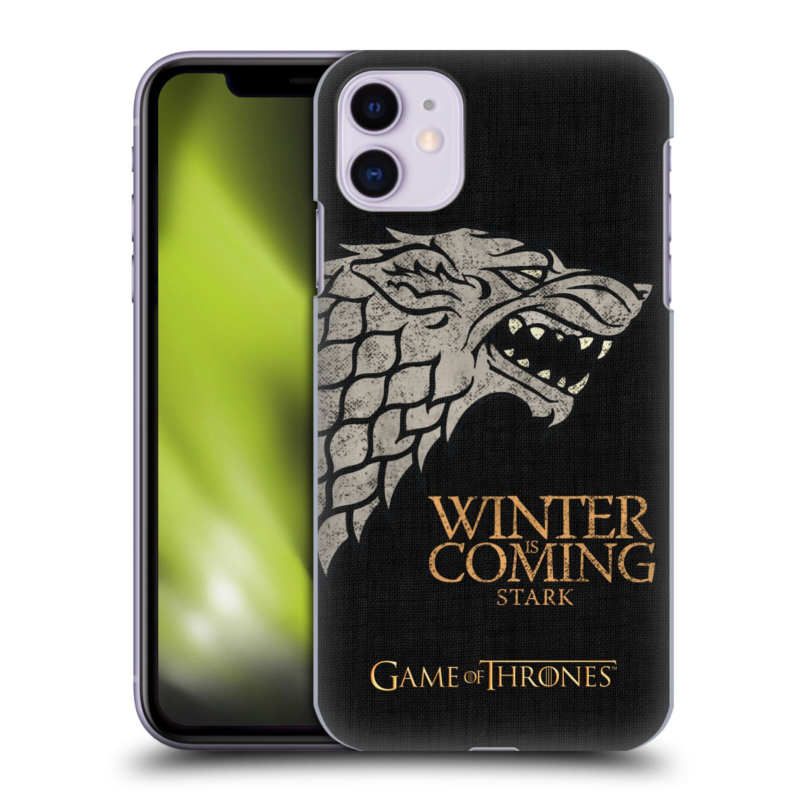 Offizielle HBO Game of Thrones House Mottos Stark Hülle für Apple iPhone 11