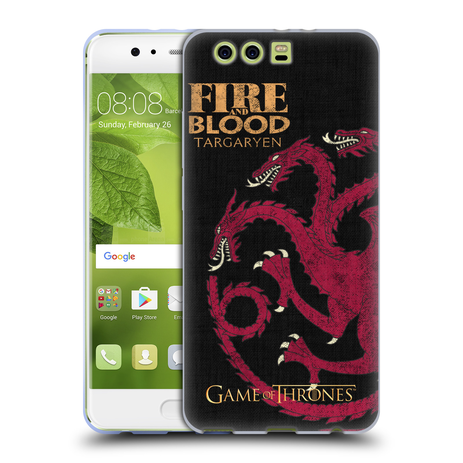 UFFICIALE-HBO-Game-of-Thrones-House-Motti-Soft-Gel-Custodia-per-Huawei-Telefoni
