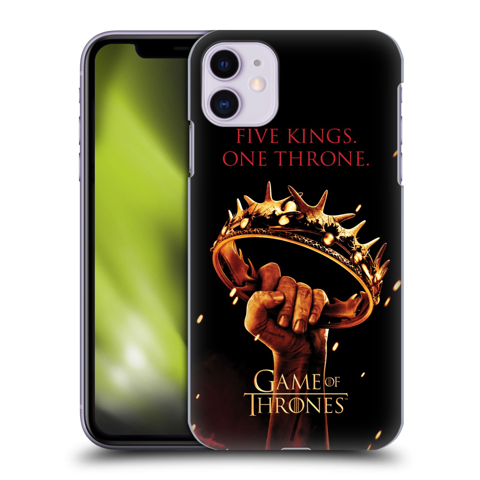 Offizielle HBO Game of Thrones Key Art Thron Hülle für Apple iPhone 11
