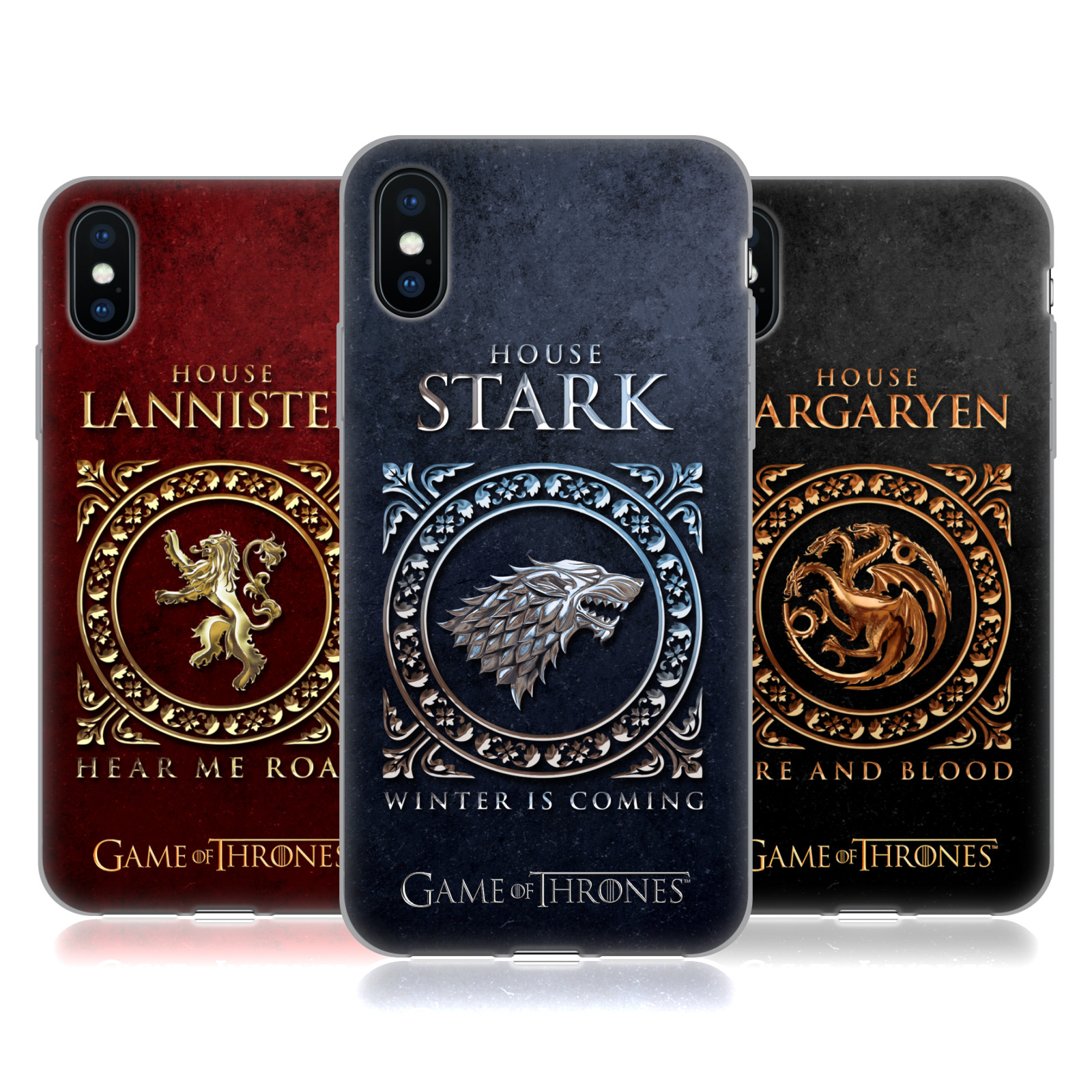 Official HBO Game of Thrones Metallic Sigils