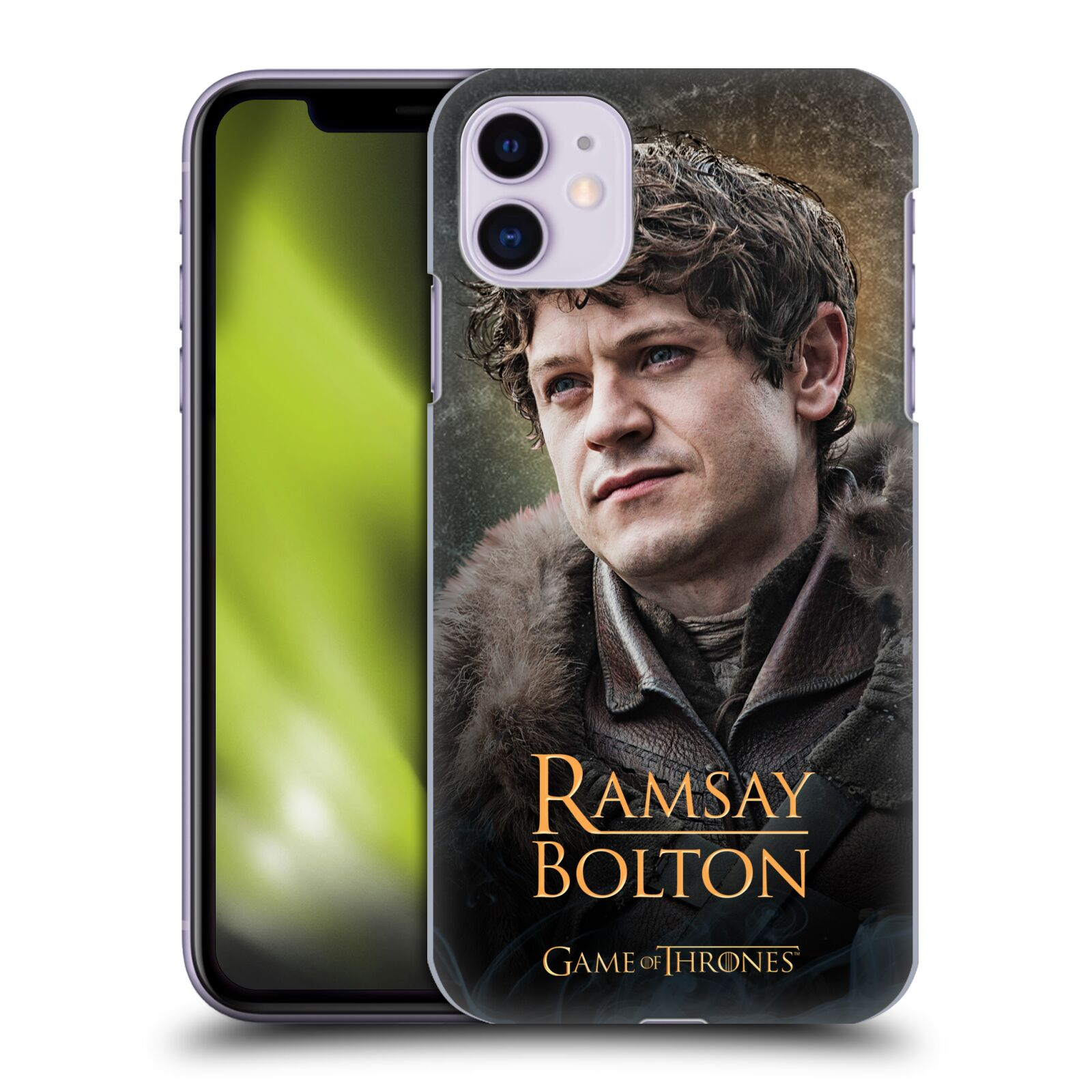 Offizielle HBO Game of Thrones Battle Of The Bastards Ramsay Hülle für Apple iPhone 11