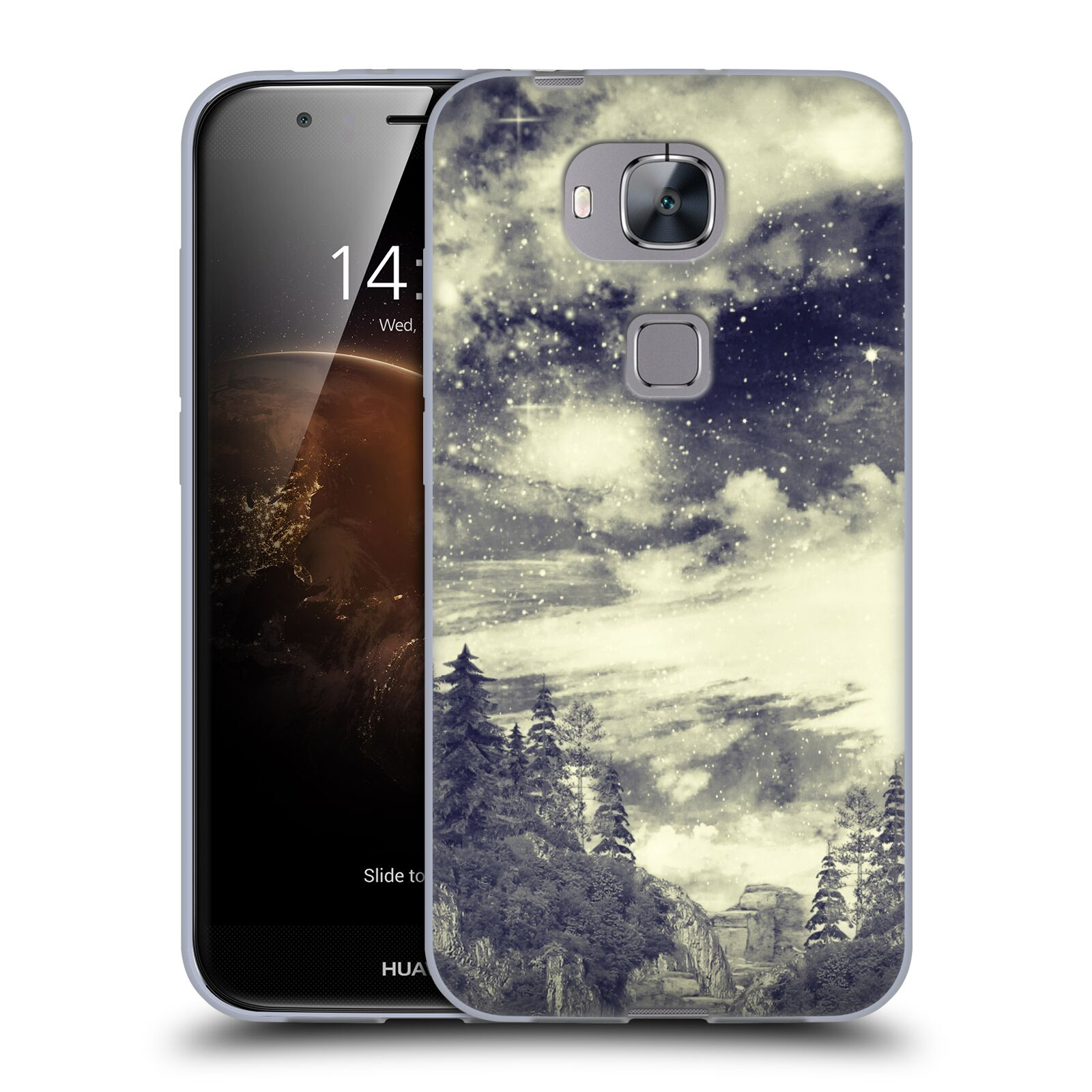OFFICIAL-HAROULITA-BLACK-WHITE-2-SOFT-GEL-CASE-FOR-HUAWEI-PHONES-2