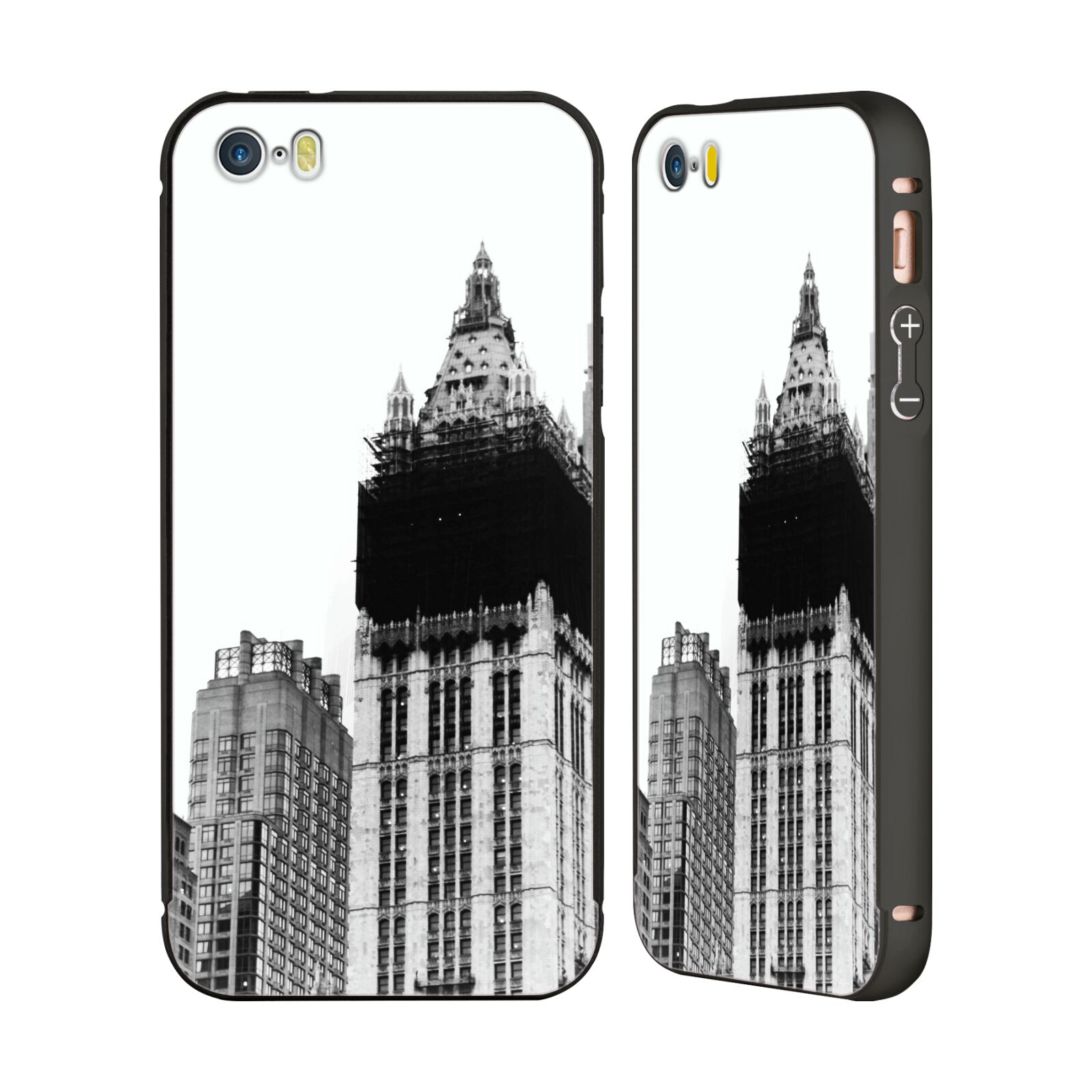 OFFICIAL-HAROULITA-BLACK-WHITE-2-BLACK-SLIDER-CASE-FOR-APPLE-iPHONE-PHONES