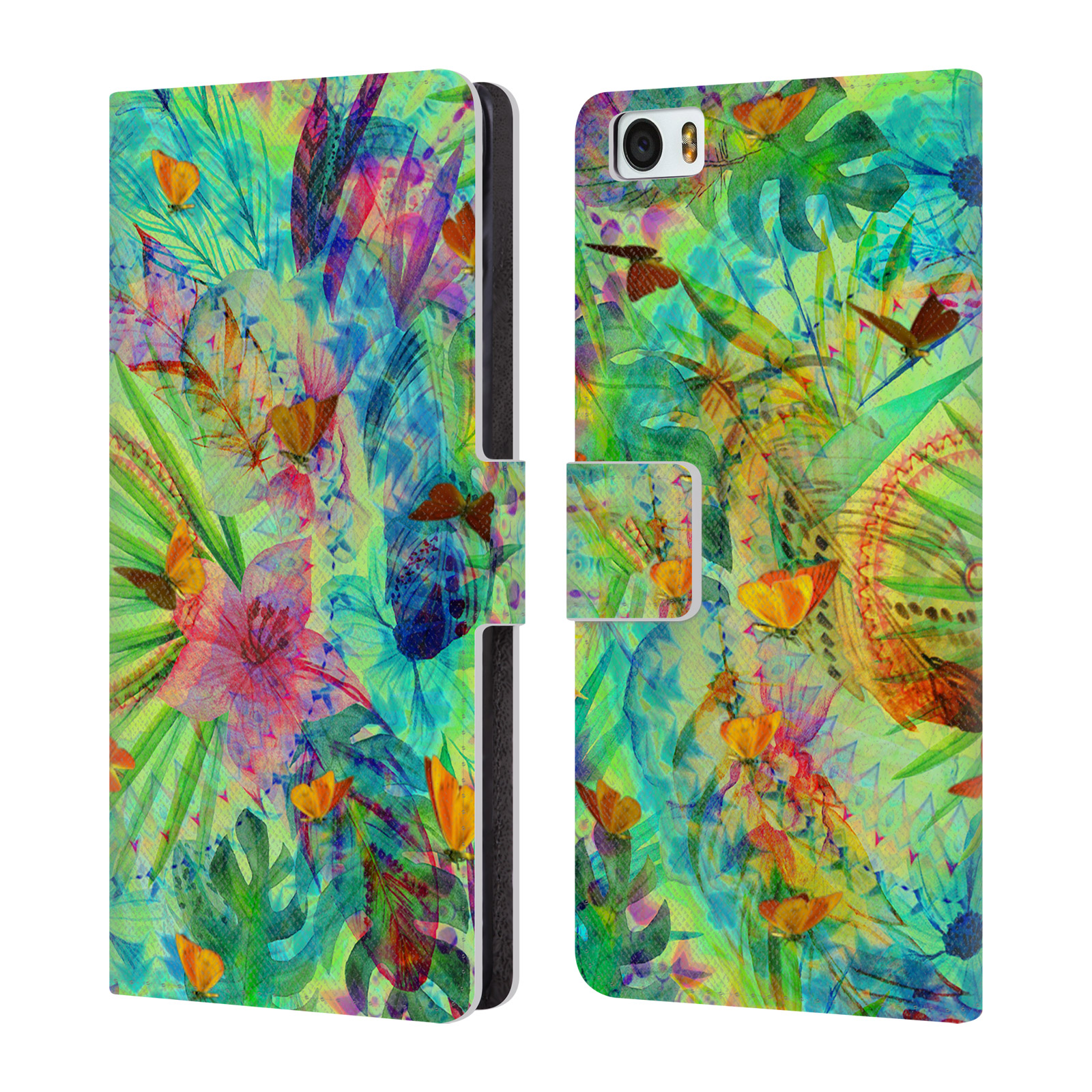 OFFICIAL-HAROULITA-VIVID-LEATHER-BOOK-WALLET-CASE-COVER-FOR-XIAOMI-PHONES