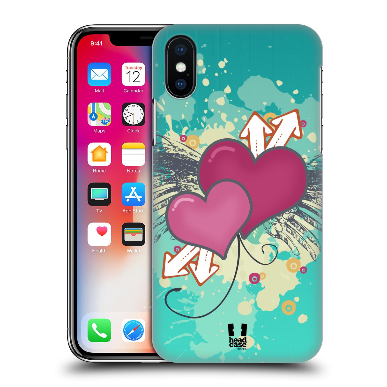 HEAD-CASE-DESIGNS-COEUR-COLLECTION-ETUI-COQUE-D-039-ARRIERE-POUR-APPLE-iPHONE-X