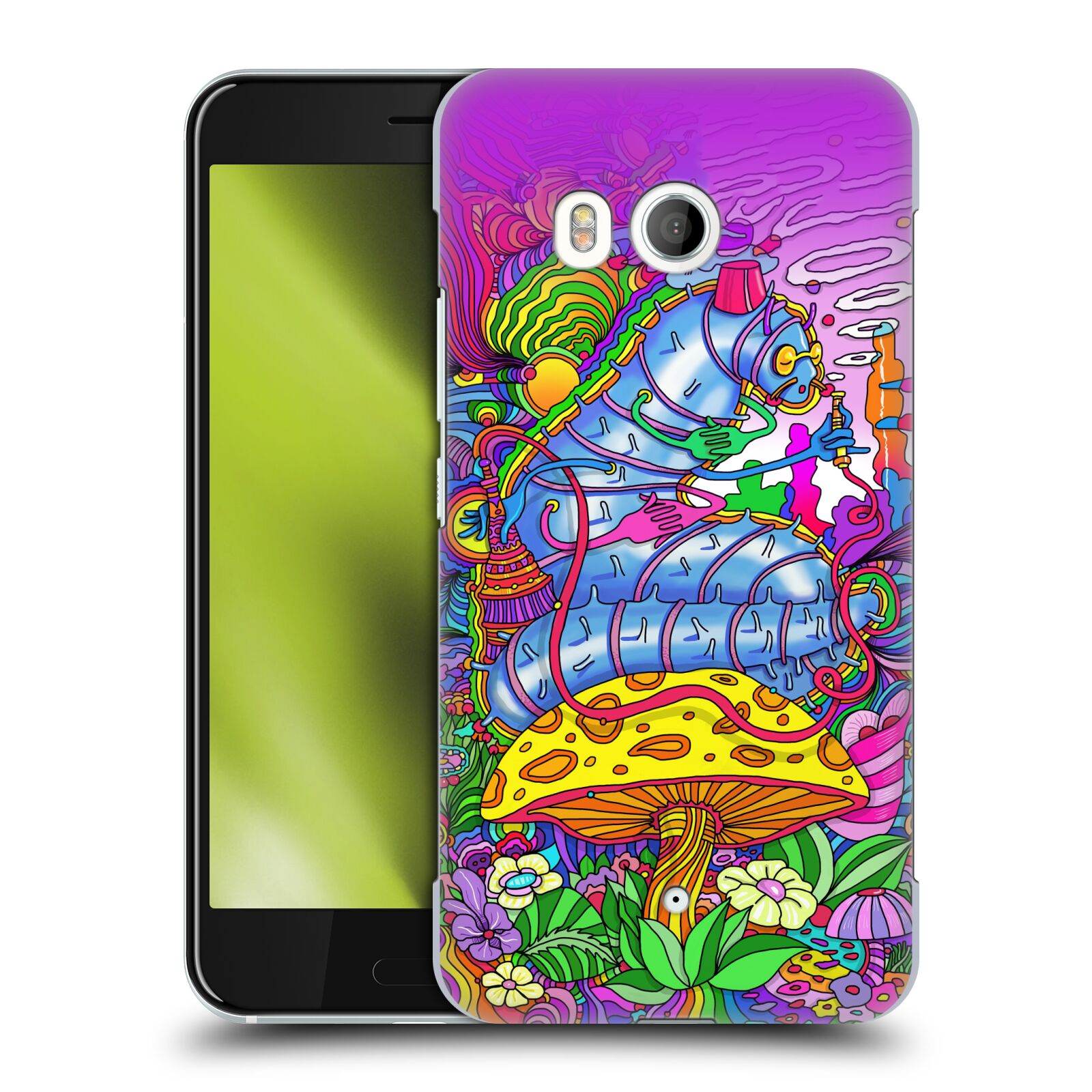 OFFICIAL-HOWIE-GREEN-MUSHROOMS-HARD-BACK-CASE-FOR-HTC-PHONES-1