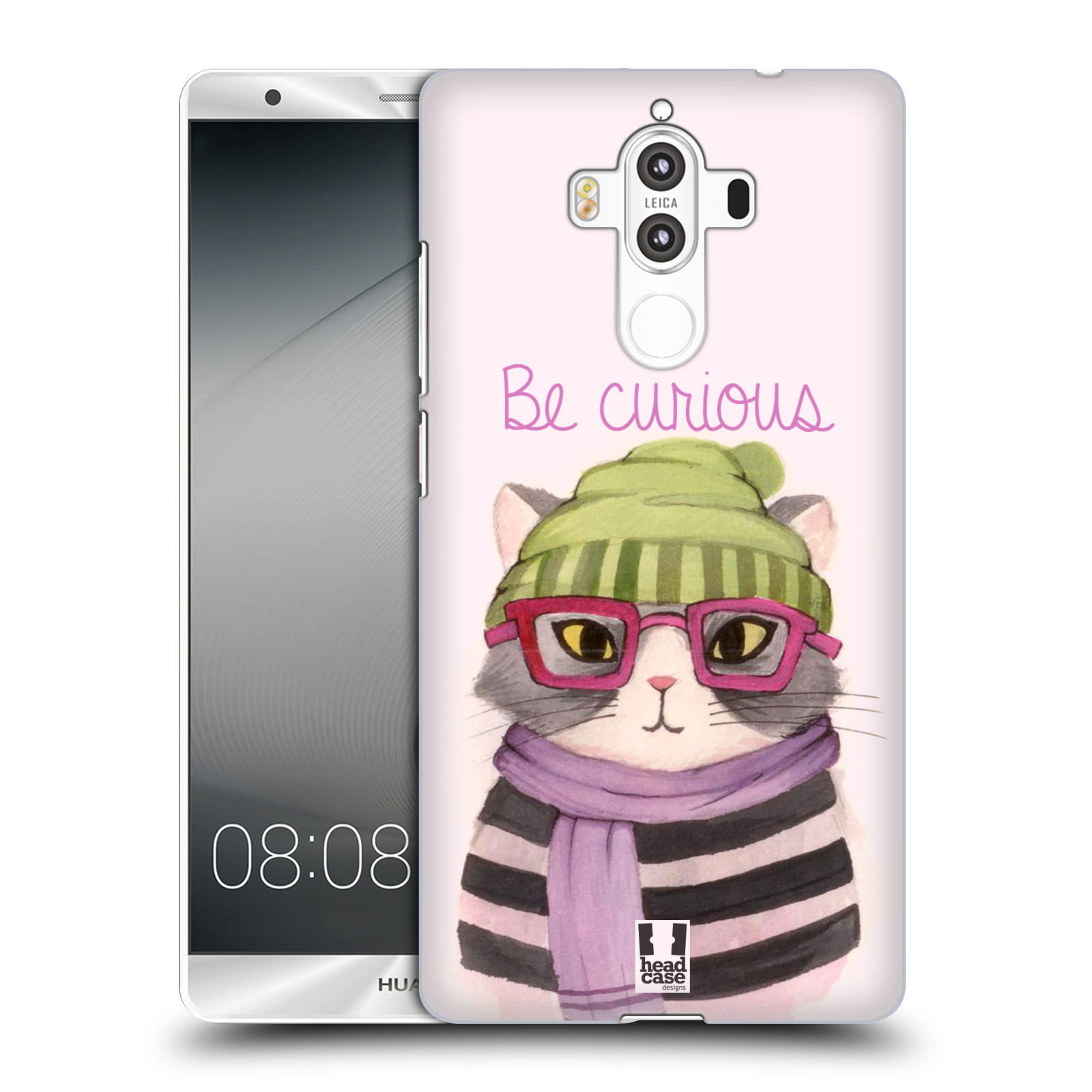 HEAD-CASE-DESIGNS-HIPSTER-ANIMALS-IN-WATERCOLOR-HARD-BACK-CASE-FOR-HUAWEI-MATE-9