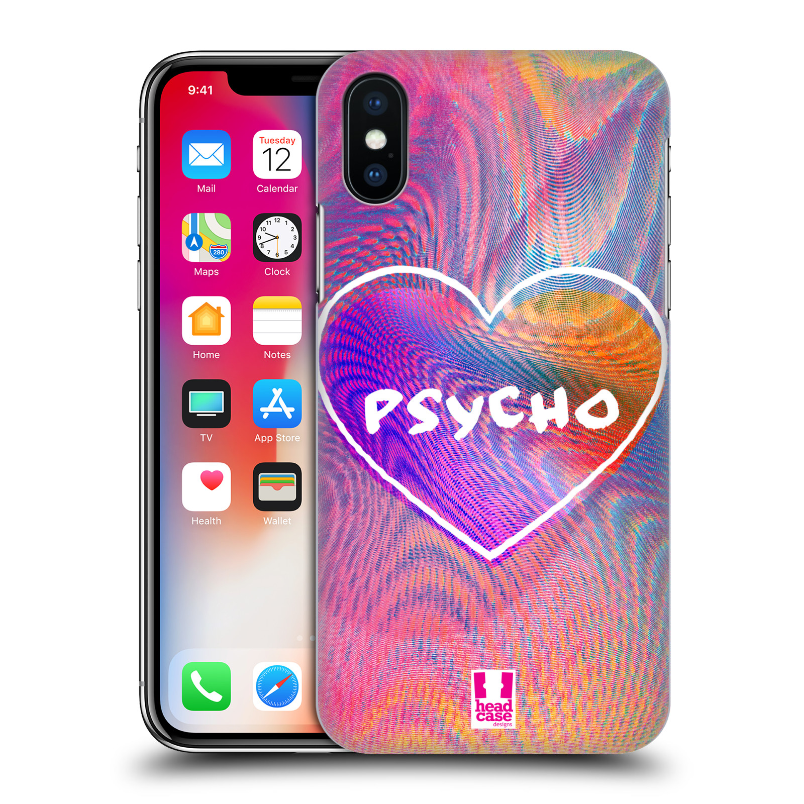 HEAD-CASE-DESIGNS-HOLOGRAPHIC-OVERLAYS-HARD-BACK-CASE-FOR-APPLE-iPHONE-X