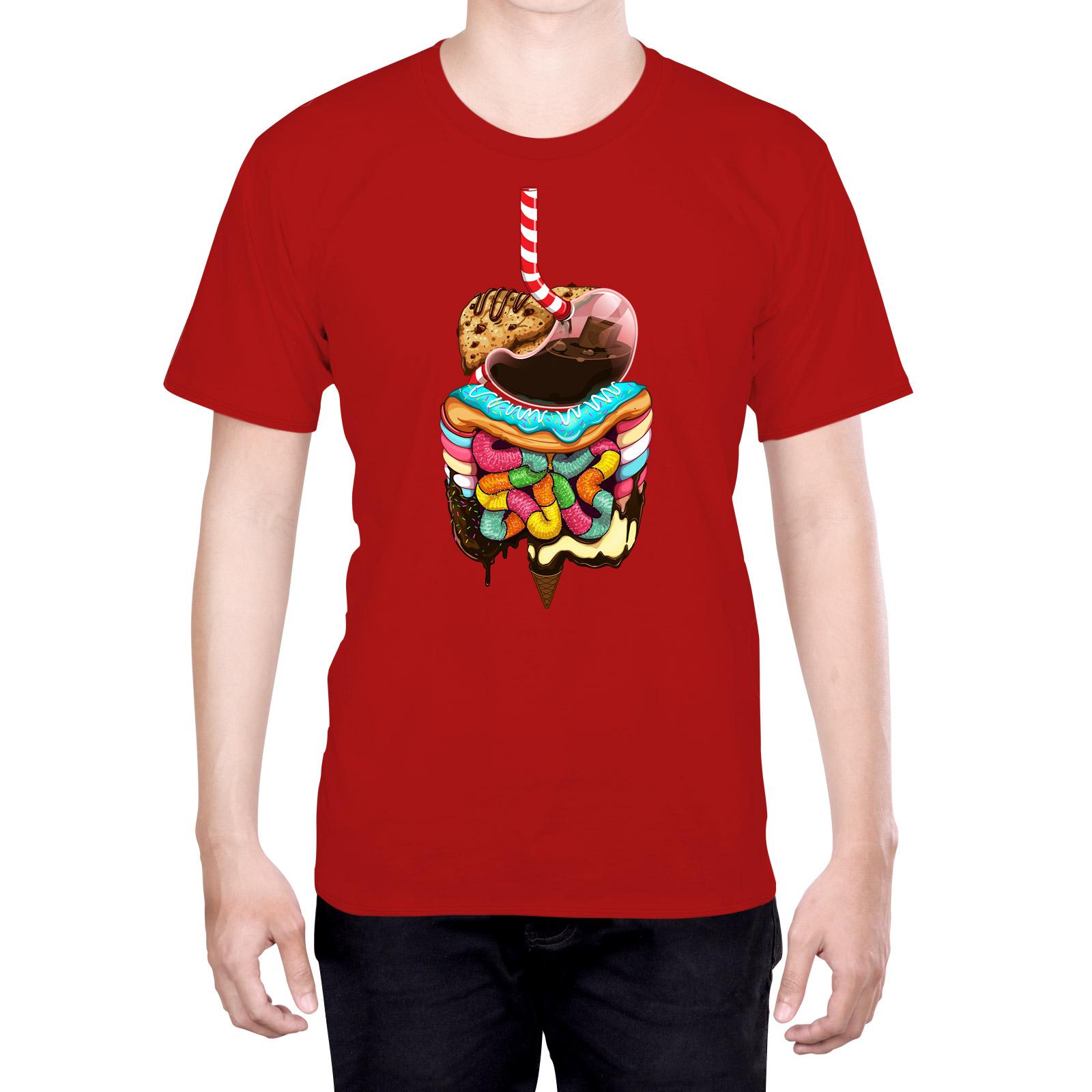 Funda HEAD CASE DESIGNS de la anatomía humana Camiseta Para Hombres ...