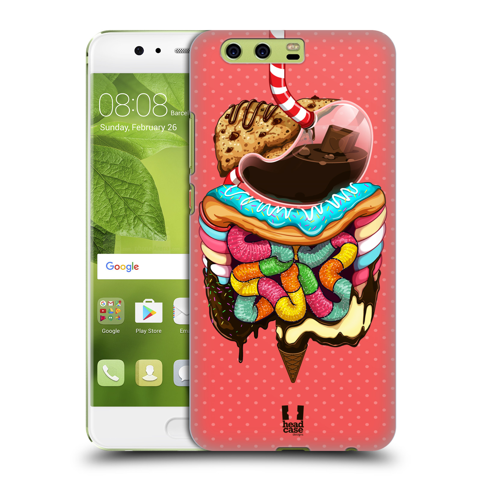 HEAD CASE DESIGNS HUMAN ANATOMY HARD BACK CASE FOR HUAWEI PHONES 1 ...
