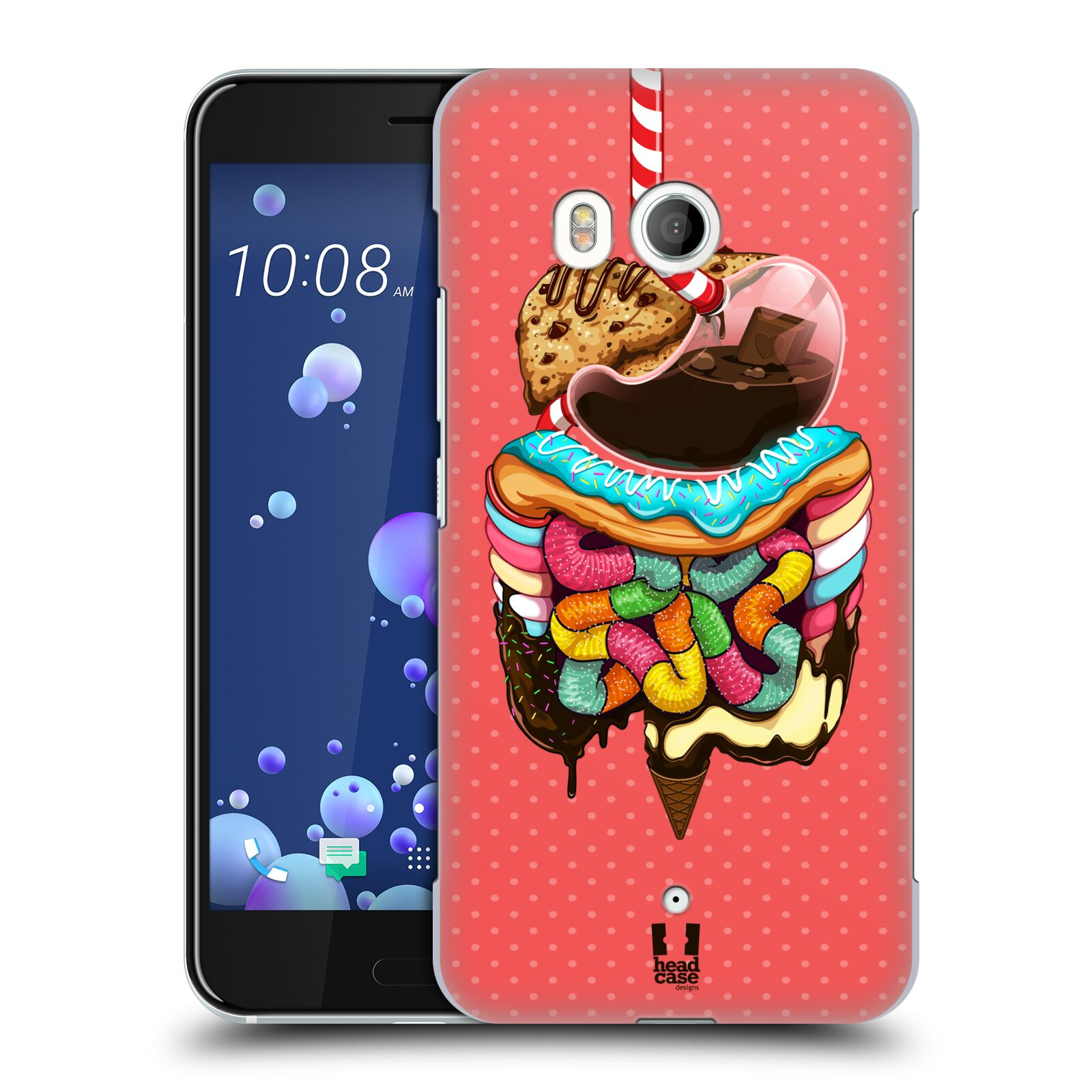 Head Case Designs Digest Human Anatomy Case Cover for HTC Desire 816 ...