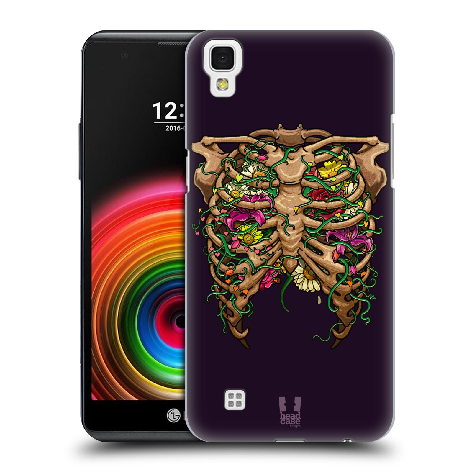 Head Case Designs Rib Cage Flora Human Anatomy Hard Back Case Cover ...