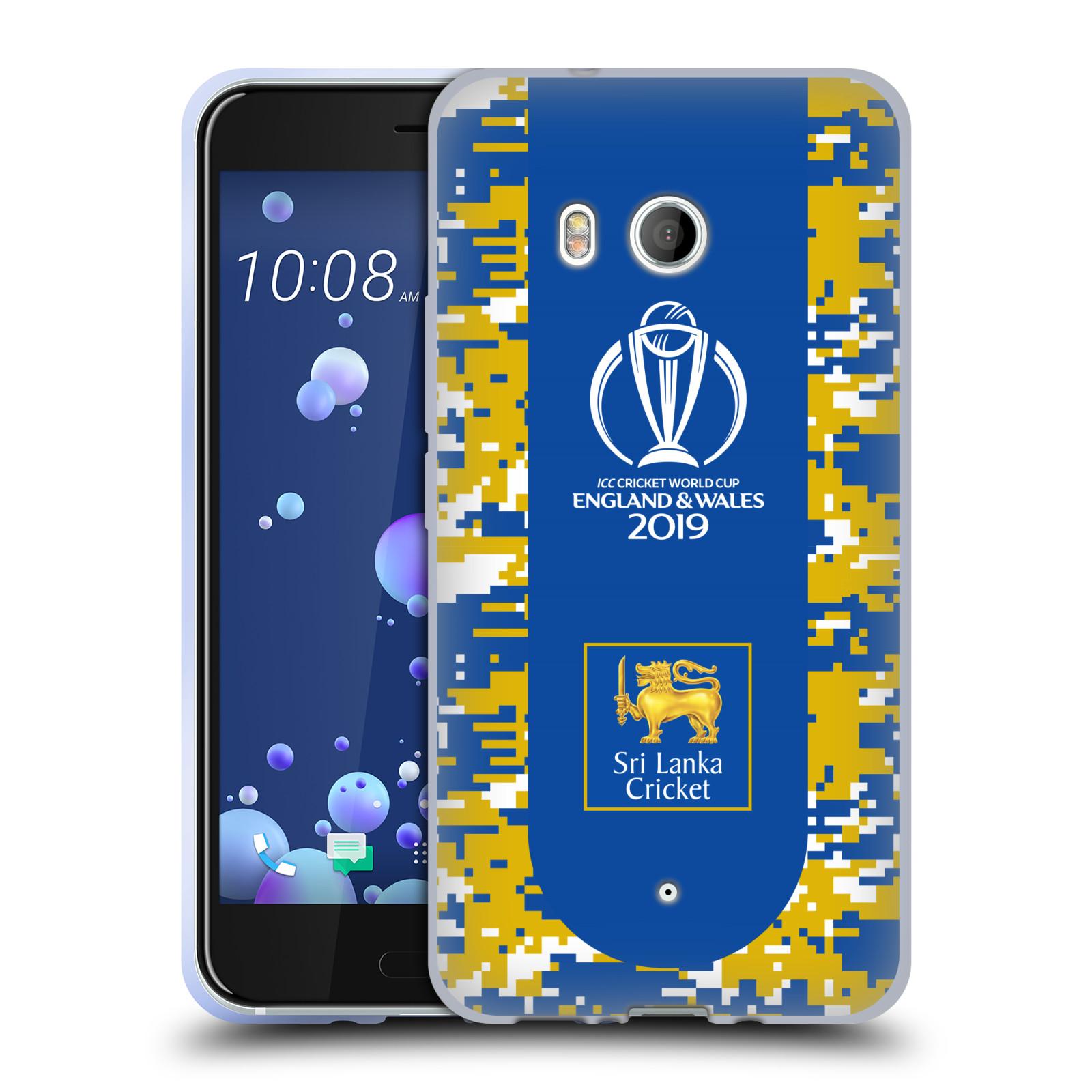 Oficial-ICC-Sri-Lanka-Cricket-World-Cup-caso-De-Gel-Suave-para-TELEFONOS-HTC-1