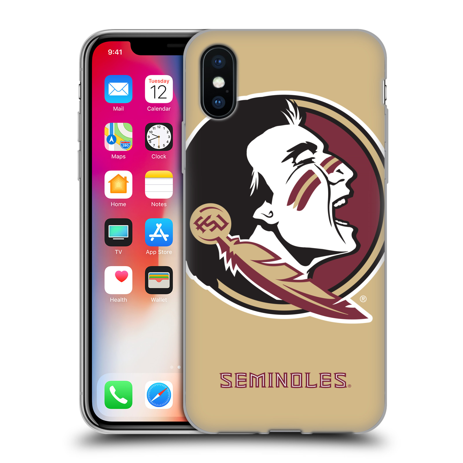 UFFICIALE-Florida-State-University-CSI-Soft-Gel-Custodia-per-telefoni-APPLE-iPHONE