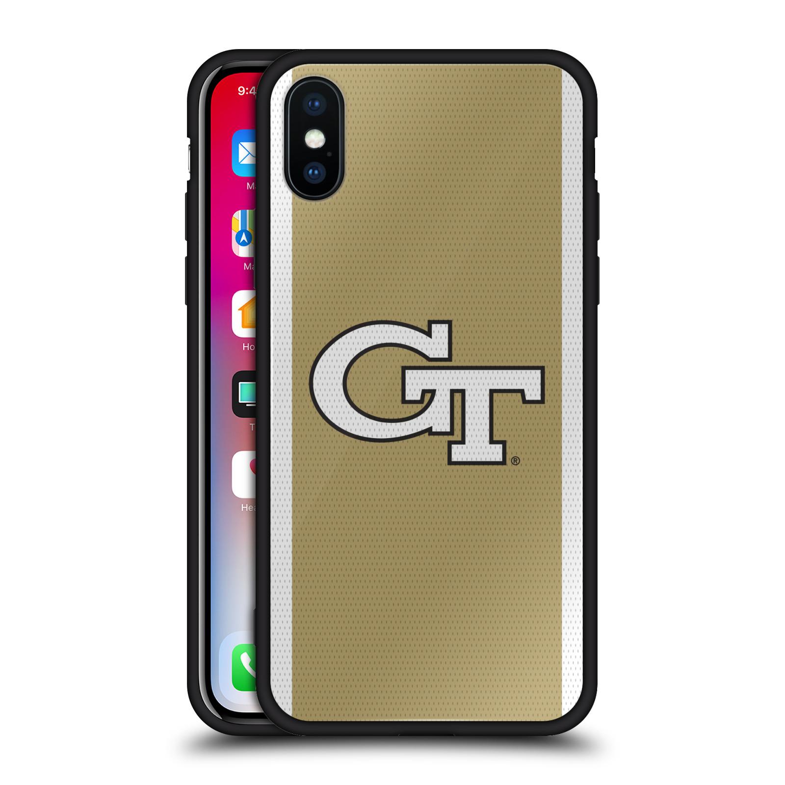 Georgia-Institute-of-Technology-negra-hibrida-de-cristal-nuevo-caso-para-telefonos-iPhone