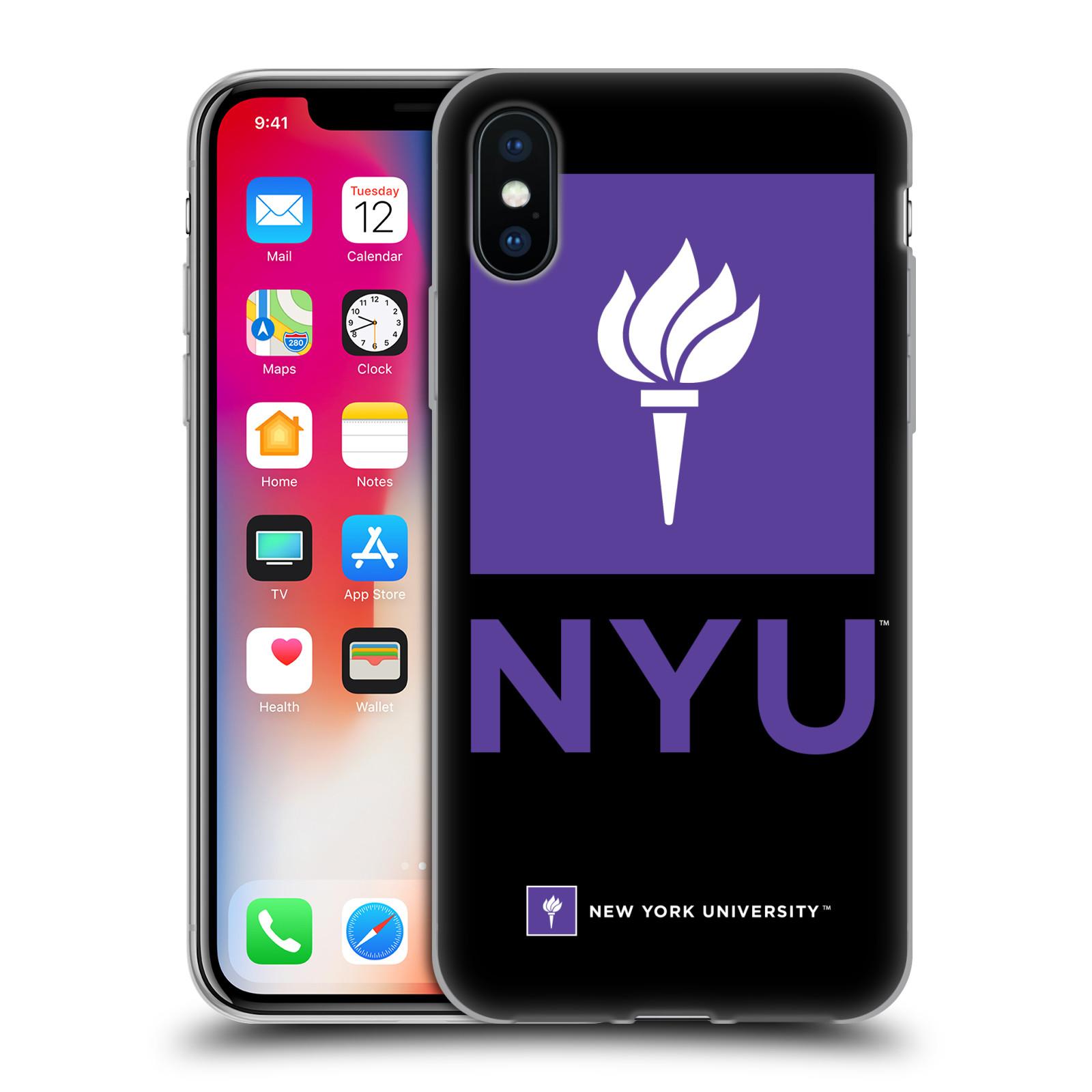 Oficial-de-la-Universidad-de-Nueva-York-NYU-Gel-Suave-Estuche-Para-Telefonos-APPLE-iPHONE