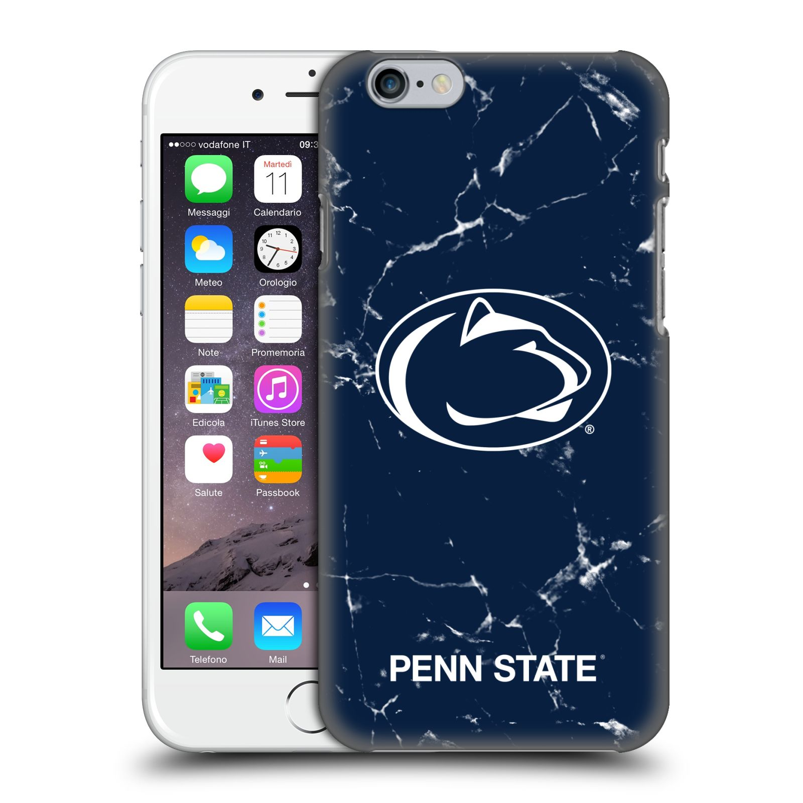Official Pennsylvania State University PSU The Pennsylvania State University Marble Case for Apple iPhone 6 / iPhone 6s