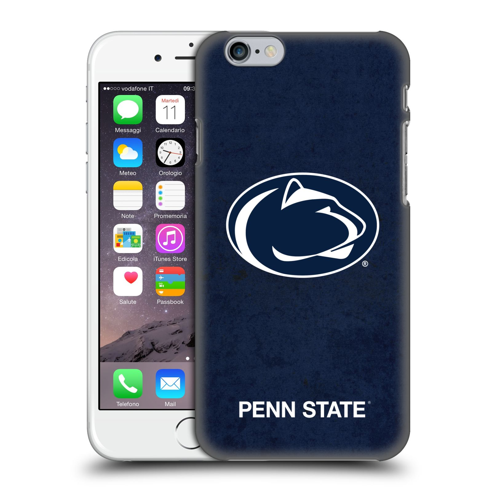 Official Pennsylvania State University PSU The Pennsylvania State University Distressed Case for Apple iPhone 6 / iPhone 6s