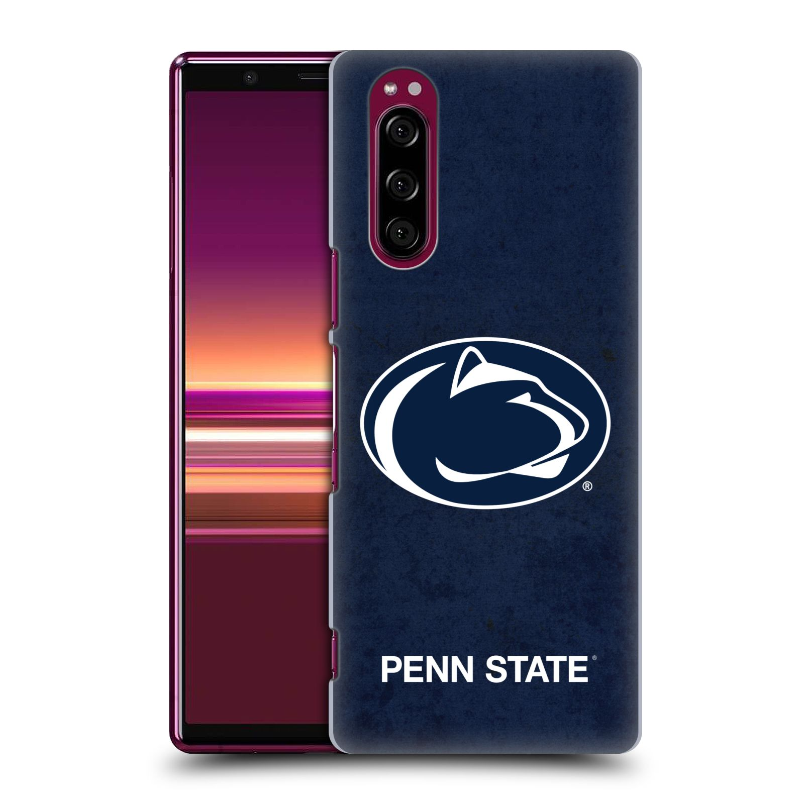 Official Pennsylvania State University PSU The Pennsylvania State University Distressed Case for Sony Xperia 5