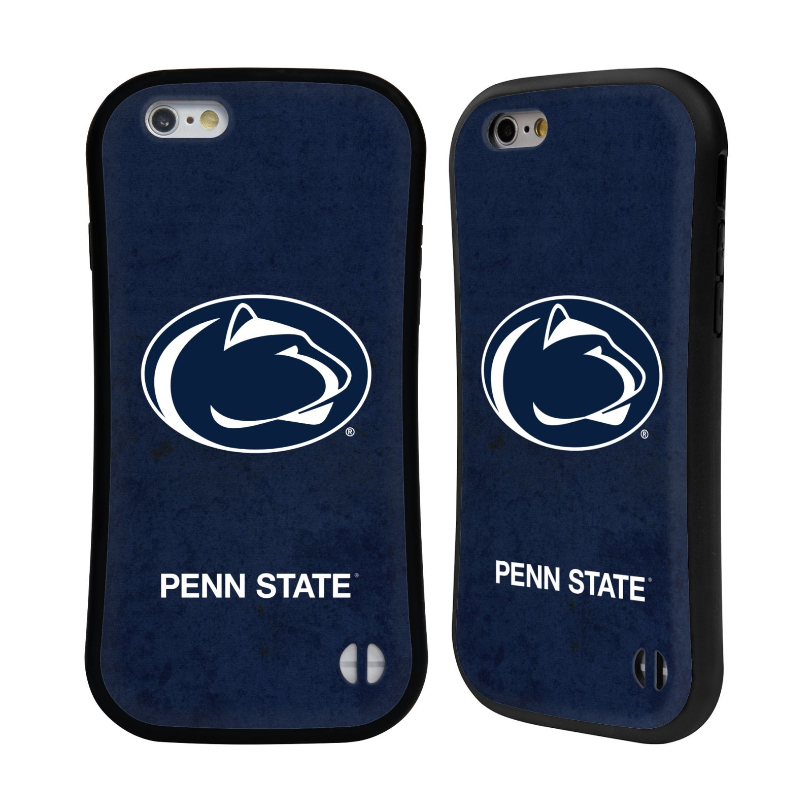 Official Pennsylvania State University PSU The Pennsylvania State University Distressed Hybrid Case for Apple iPhone 6 / iPhone 6s