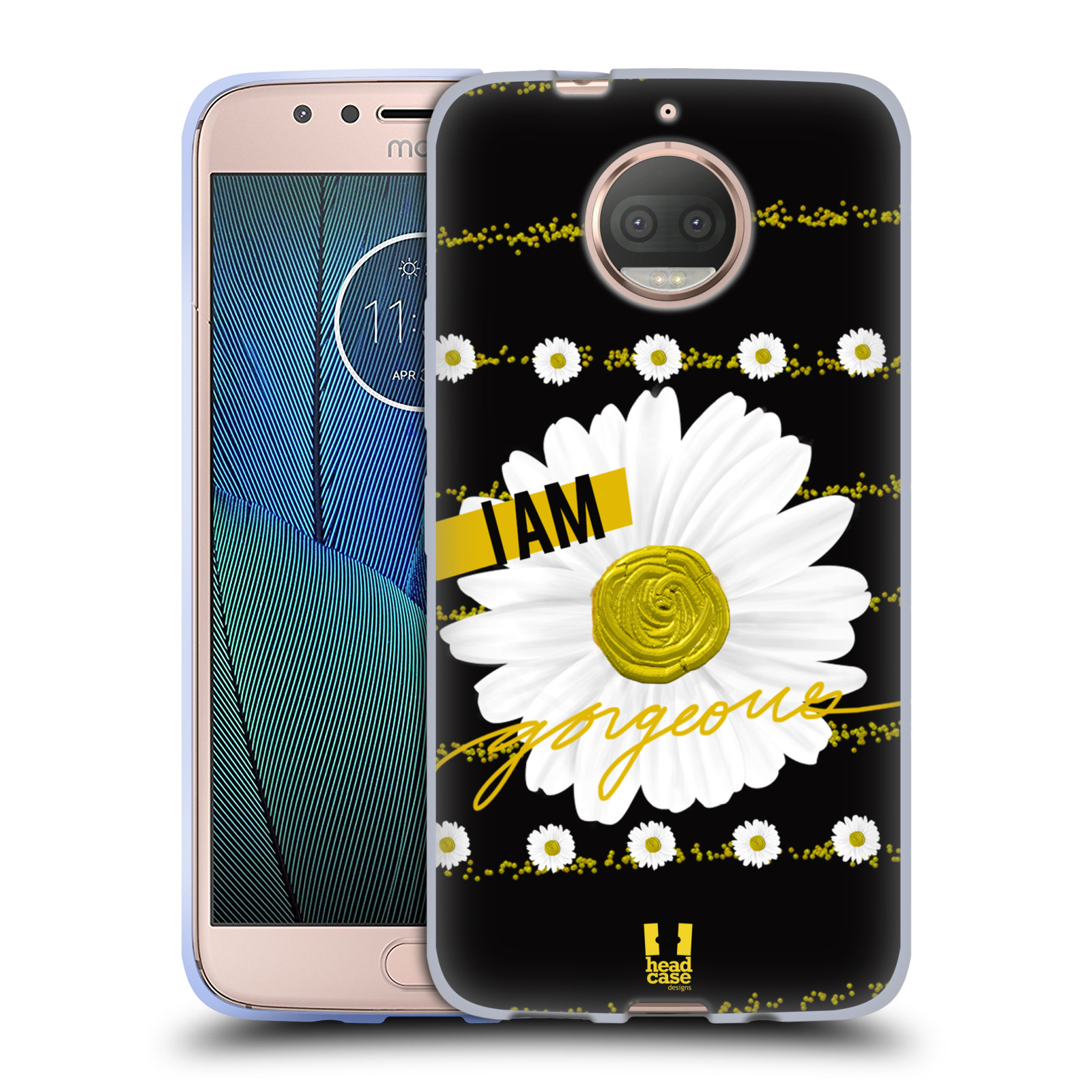 HEAD-CASE-DESIGNS-I-AM-GOLD-ENSEMBLE-SOFT-GEL-CASE-FOR-MOTOROLA-MOTO-G5S-PLUS