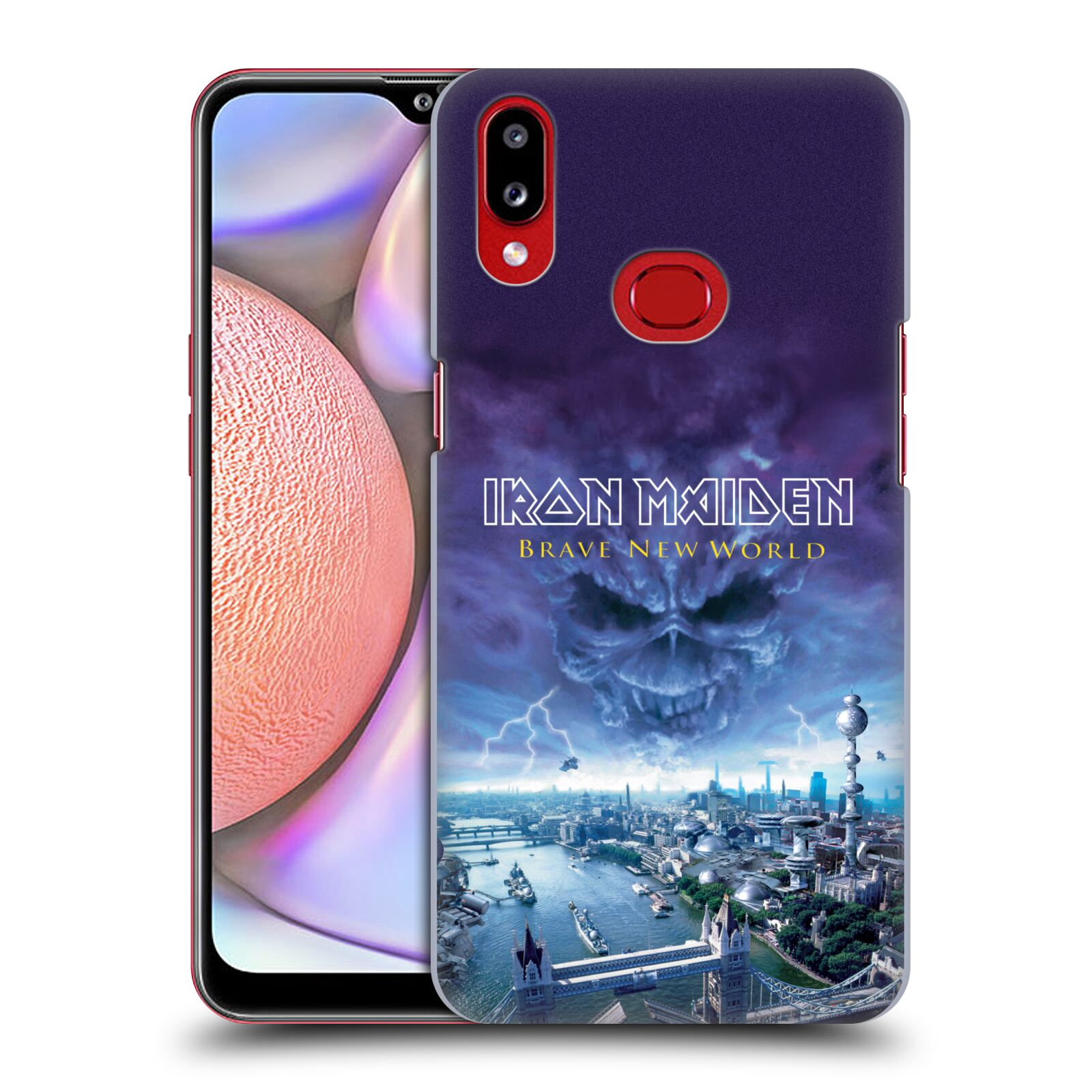 Official Iron Maiden Album Covers Brave New World Case for Samsung Galaxy A10s (2019)