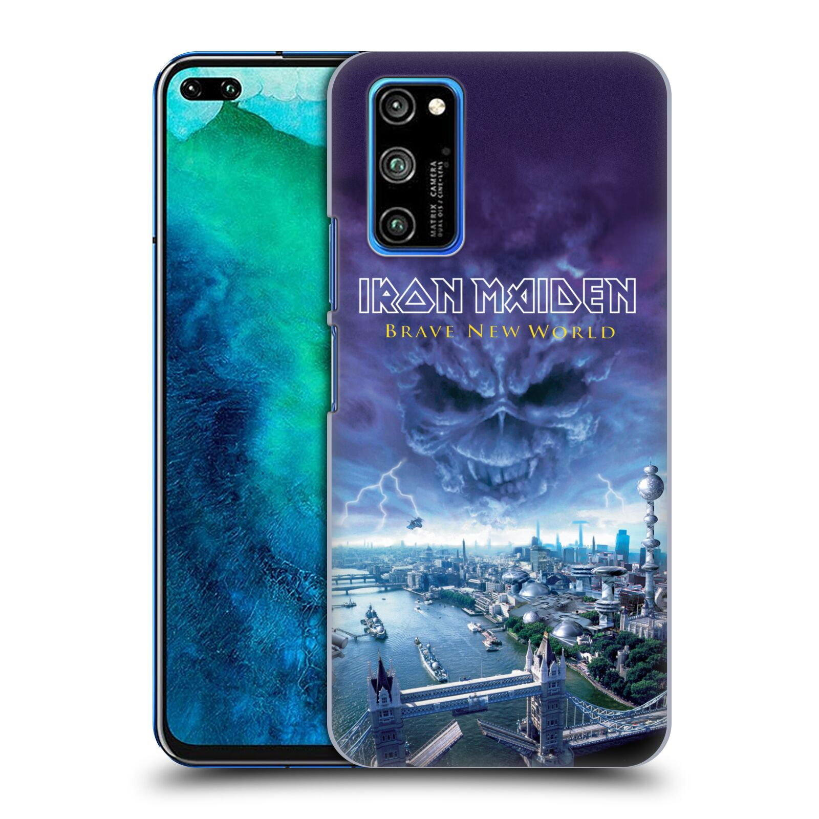 Official Iron Maiden Album Covers Brave New World Case for Huawei Honor V30 Pro / View 30 Pro