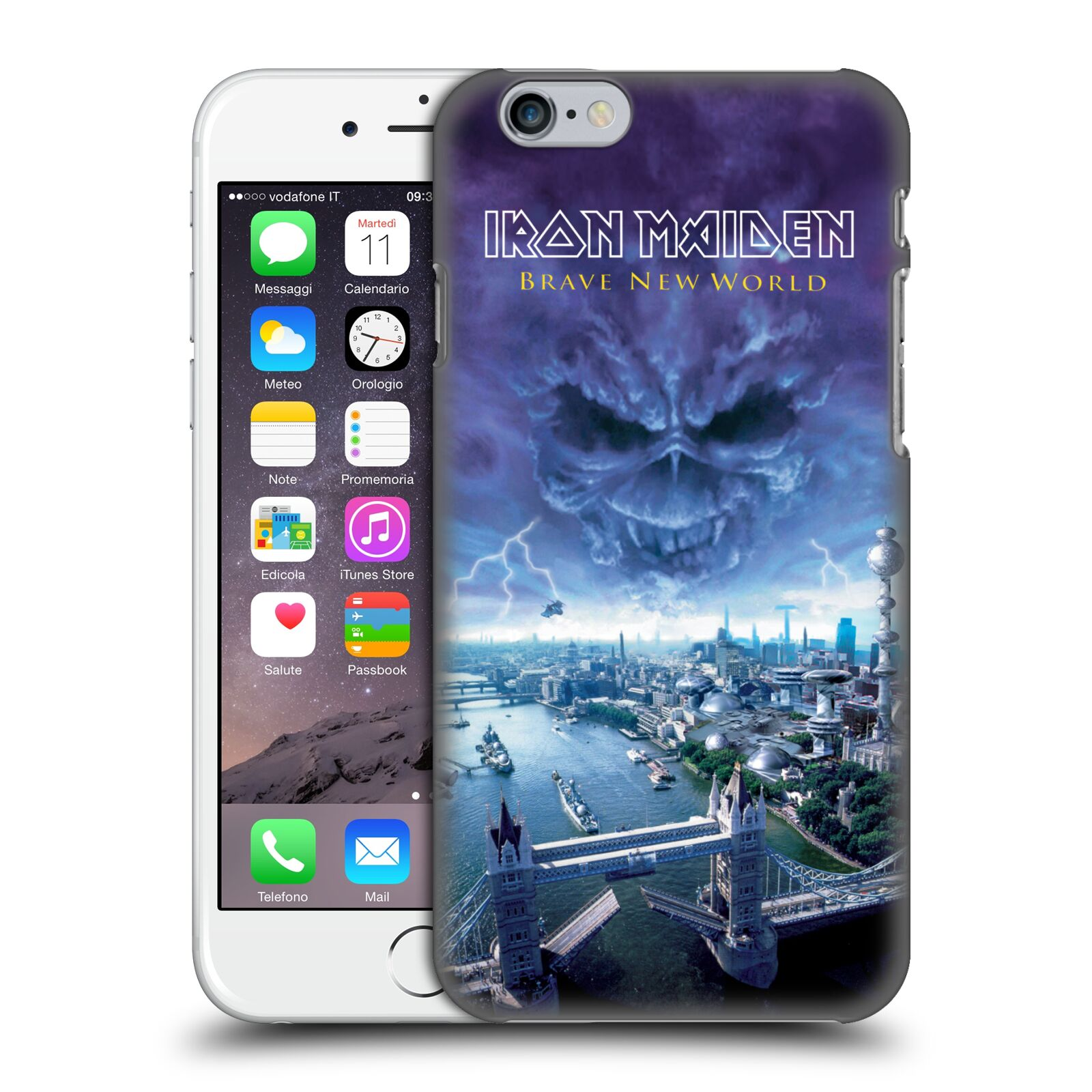 Official Iron Maiden Album Covers Brave New World Case for Apple iPhone 6 / iPhone 6s