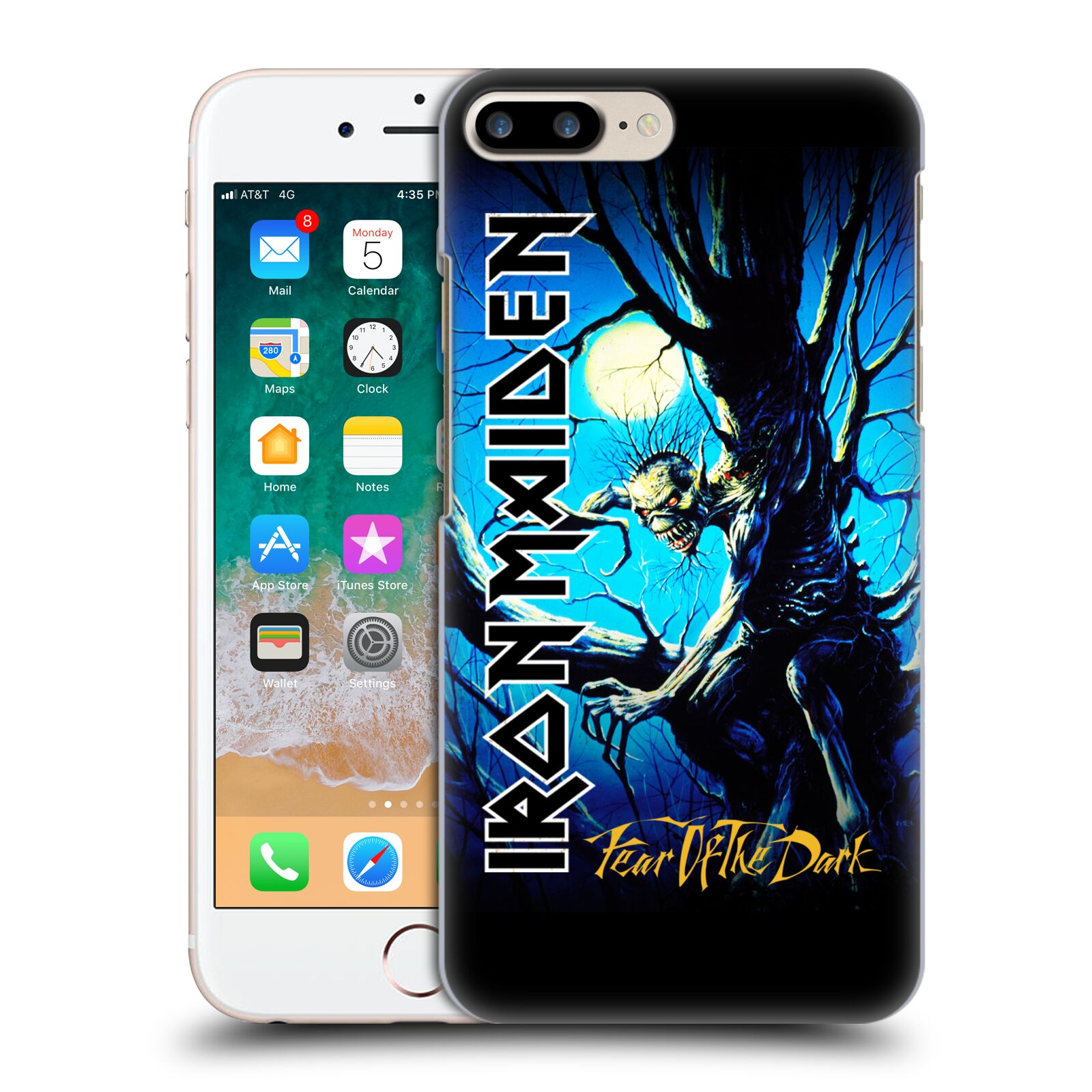 Official Iron Maiden Album Covers FOTD Case for Apple iPhone 7 Plus / iPhone 8 Plus