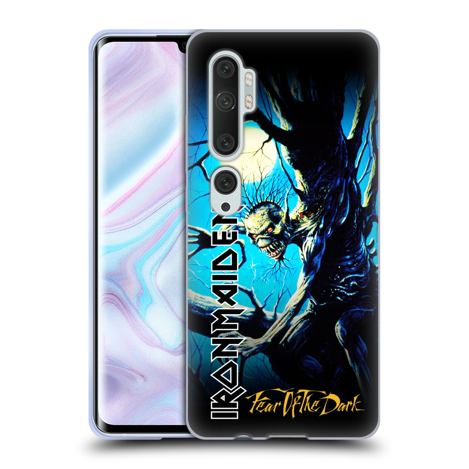 Official Iron Maiden Album Covers FOTD Gel Case for Xiaomi Mi CC9 Pro / Mi Note 10 / Pro