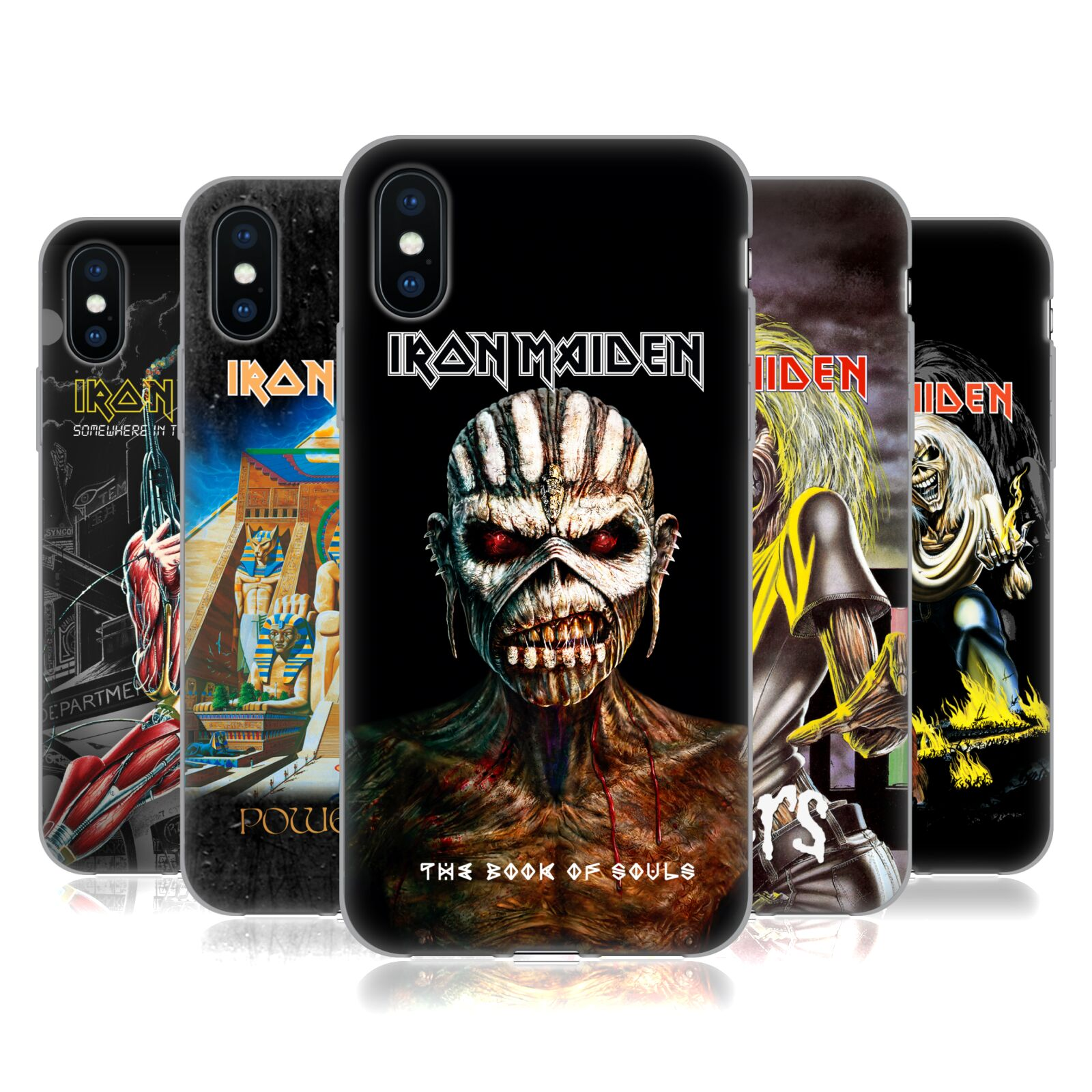 Official Iron Maiden Album Covers