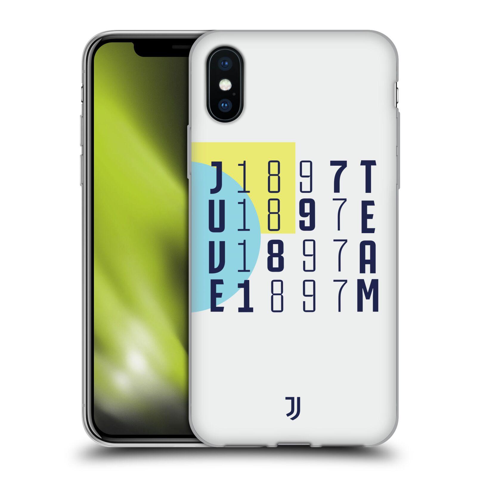 JUVENTUS-FC-2018-19-COLOUR-BLOCKING-ETUI-COQUE-EN-GEL-POUR-APPLE-iPHONE-PHONES