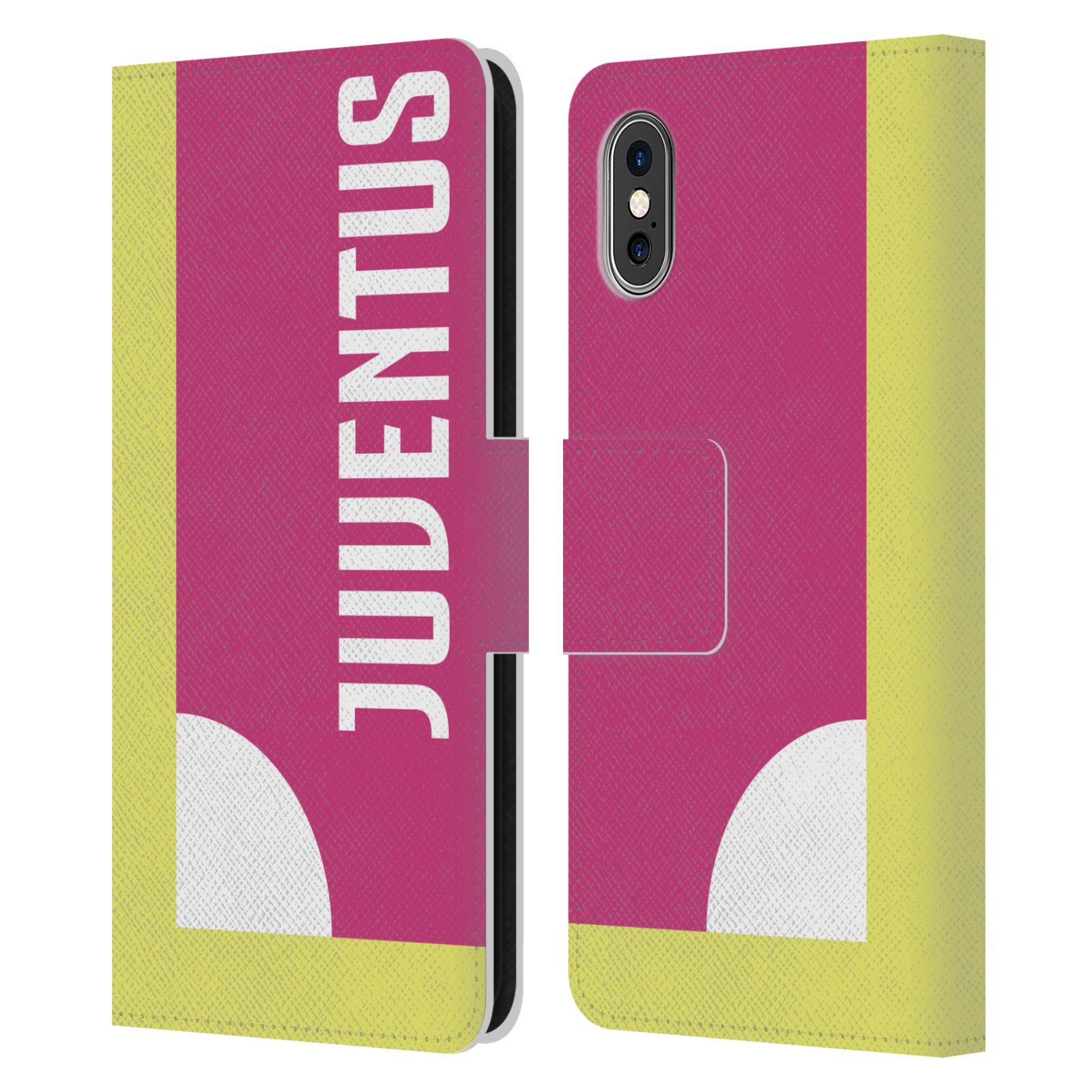 JUVENTUS-FC-2018-19-COLOUR-BLOCKING-LEATHER-BOOK-CASE-FOR-APPLE-iPHONE-PHONES