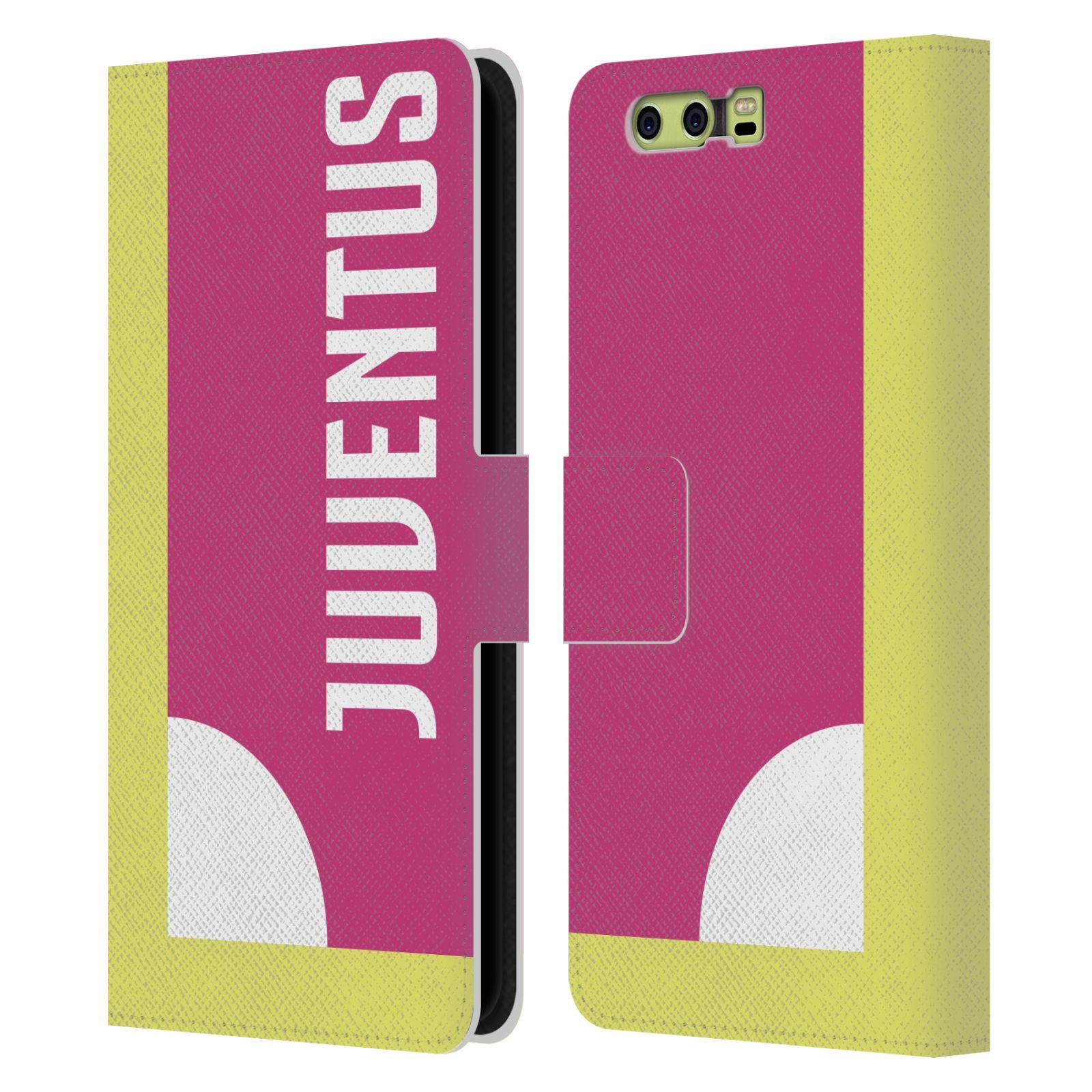 JUVENTUS-FC-2018-19-Estuche-tipo-Billetera-Cuero-Libro-de-bloqueo-de-color-para-telefonos-HUAWEI